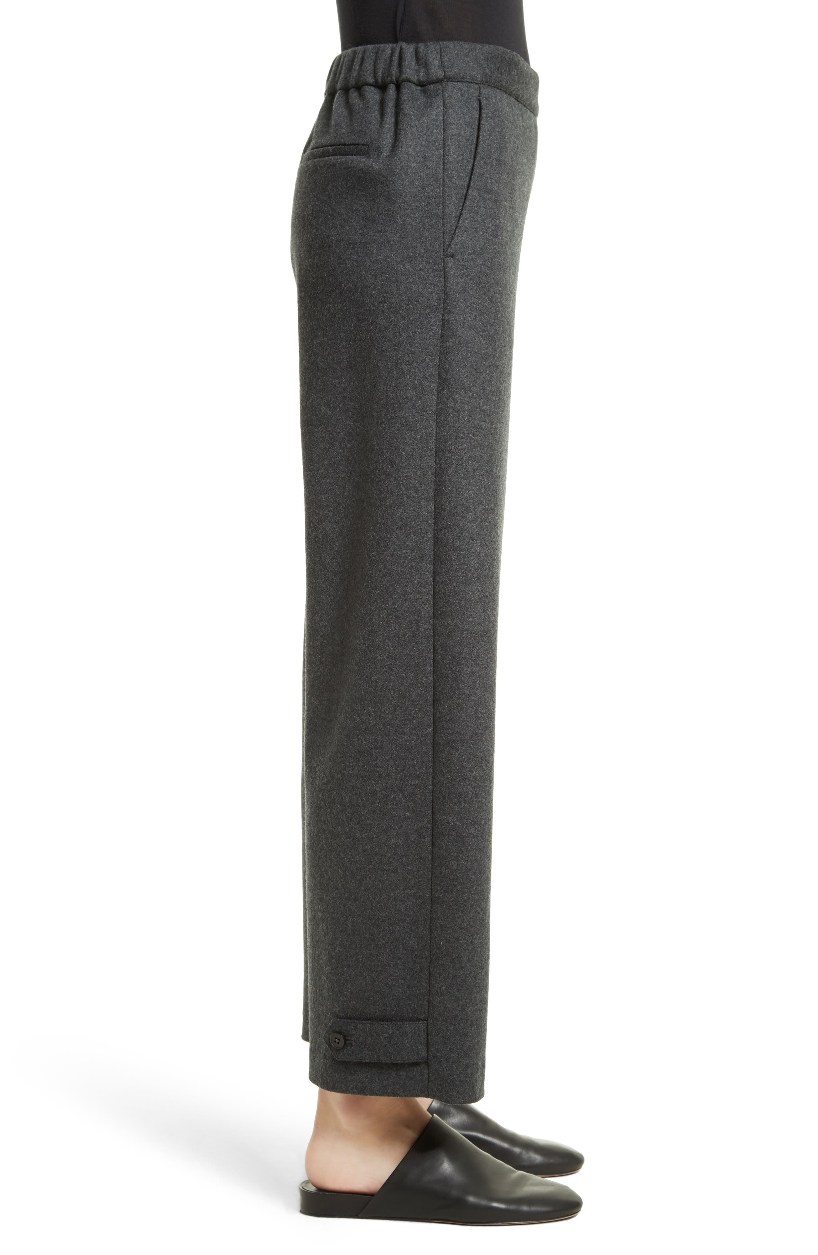 Genie Flannel Knit Pants,                             Alternate thumbnail 3, color,                             029