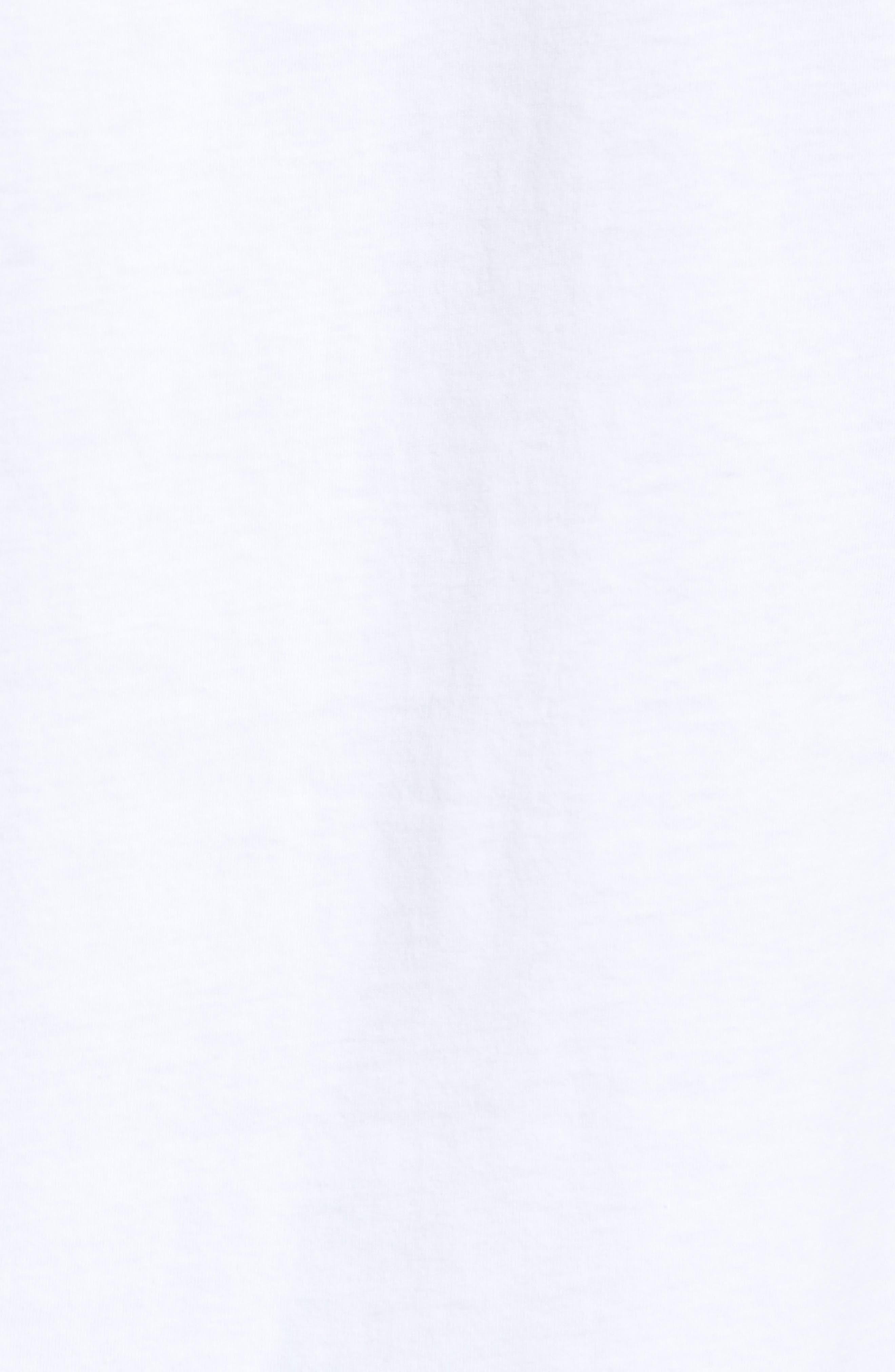 Floater Fill T-Shirt,                             Alternate thumbnail 5, color,                             WHITE