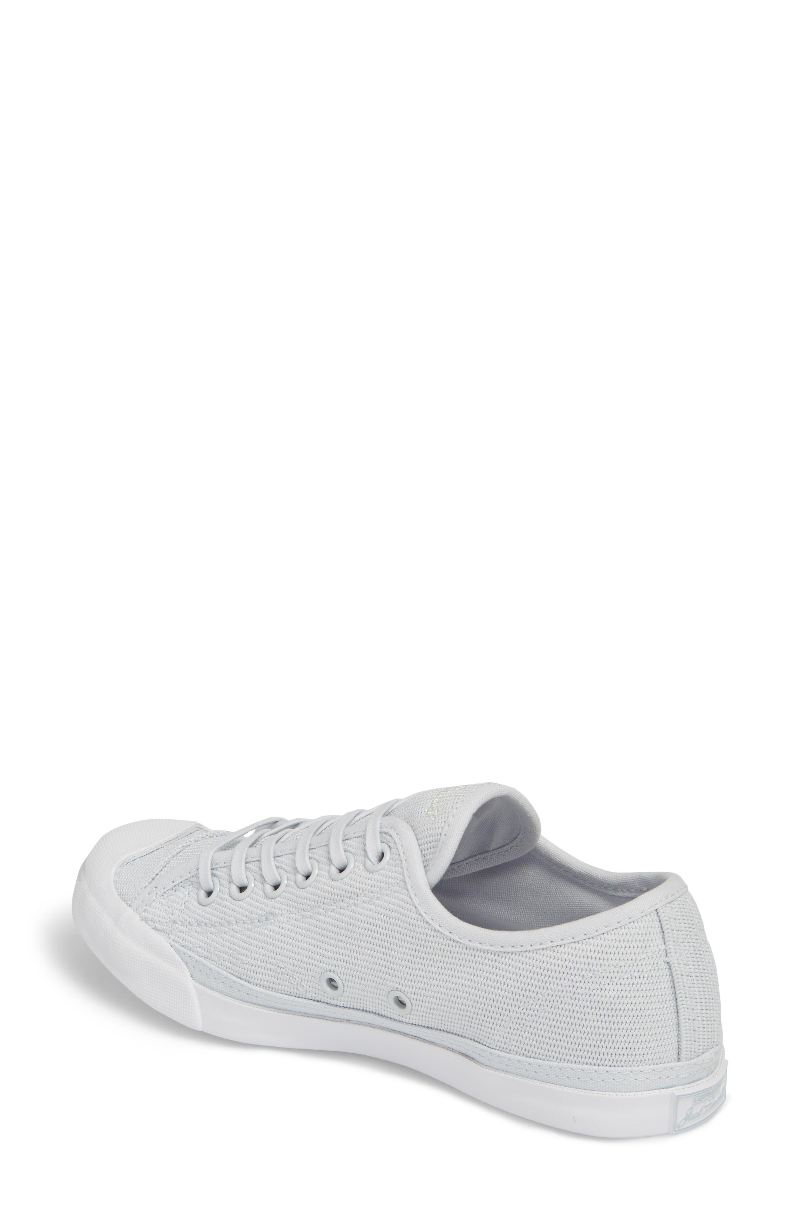 Jack Purcell Low Top Sneaker,                             Alternate thumbnail 2, color,                             PURE PLATINUM