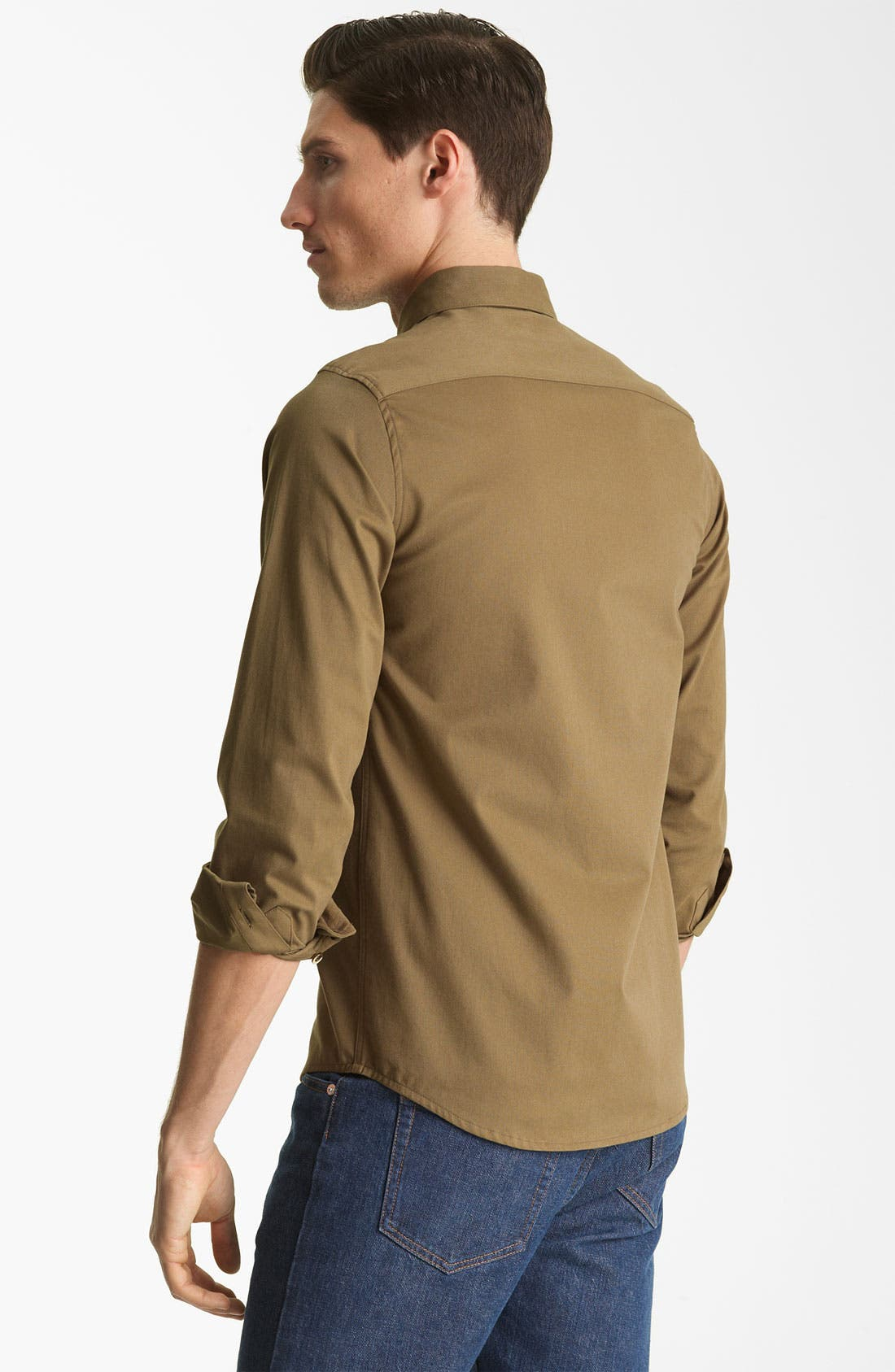 'Fluide' Woven Shirt,                             Alternate thumbnail 3, color,                             250