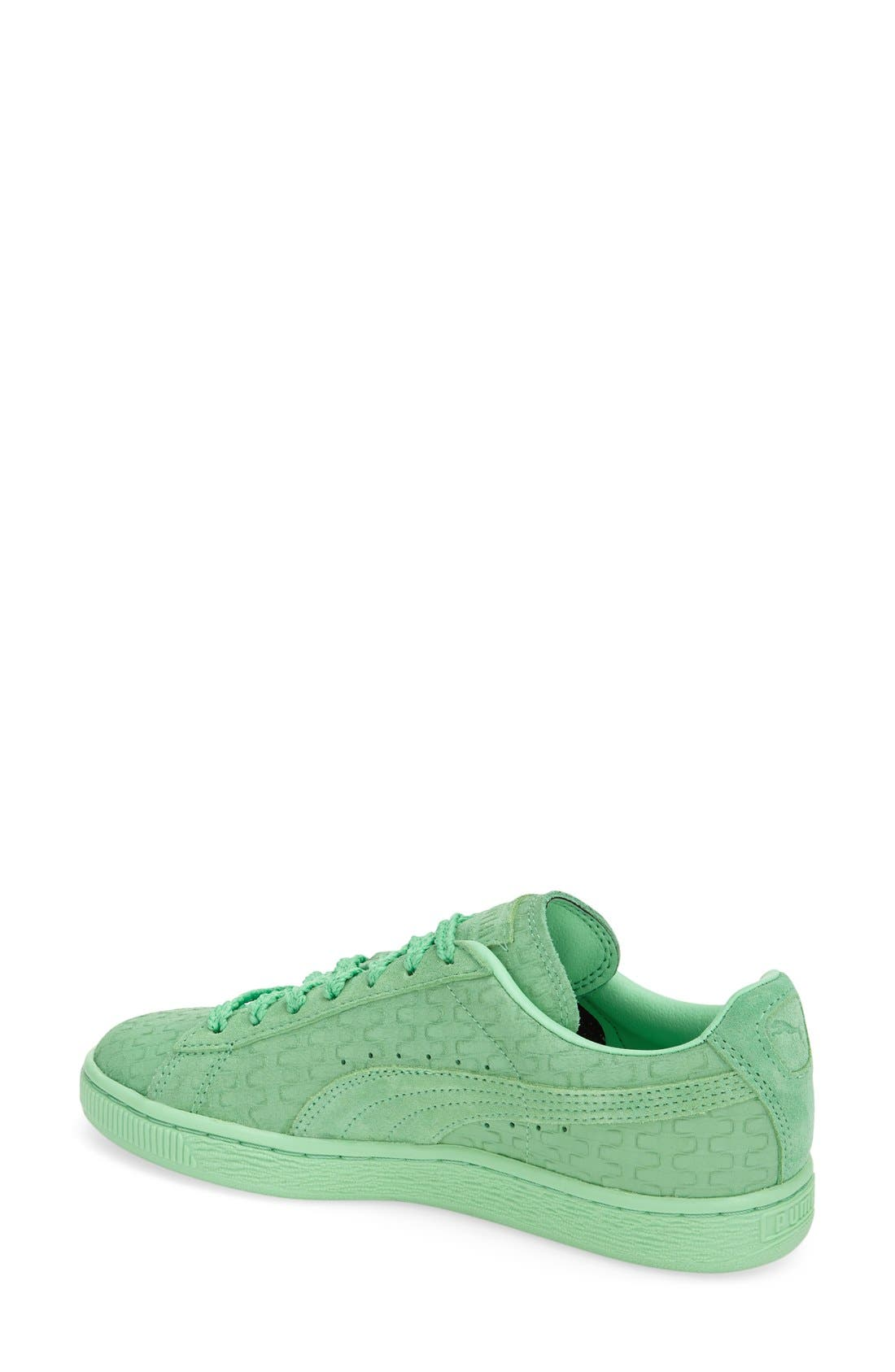 'Suede Classic - Solange' Sneaker,                             Alternate thumbnail 3, color,                             300