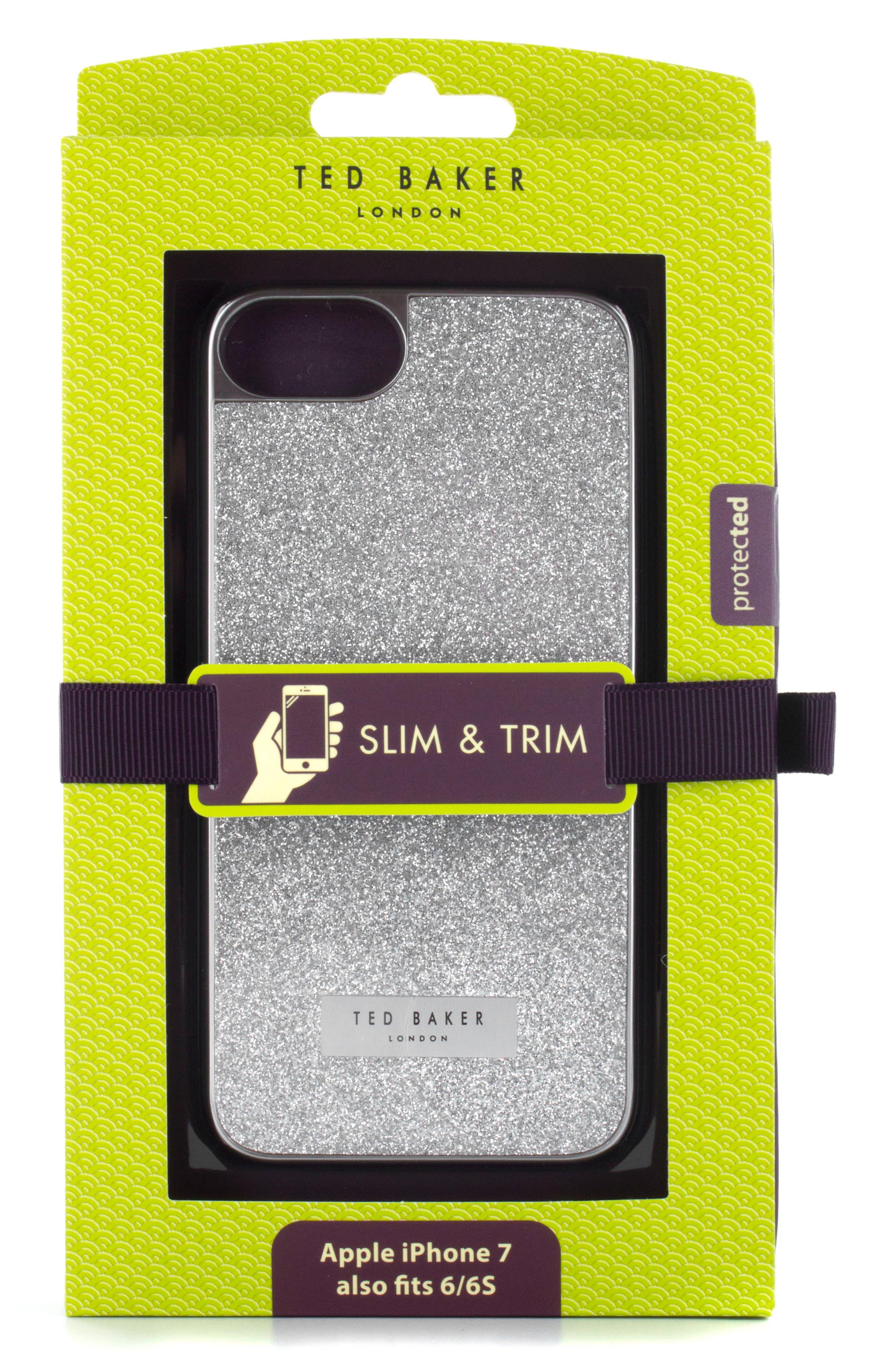 Sparkles iPhone 6/6s/7/8 & 6/6s/7/8 Plus Case,                             Alternate thumbnail 3, color,