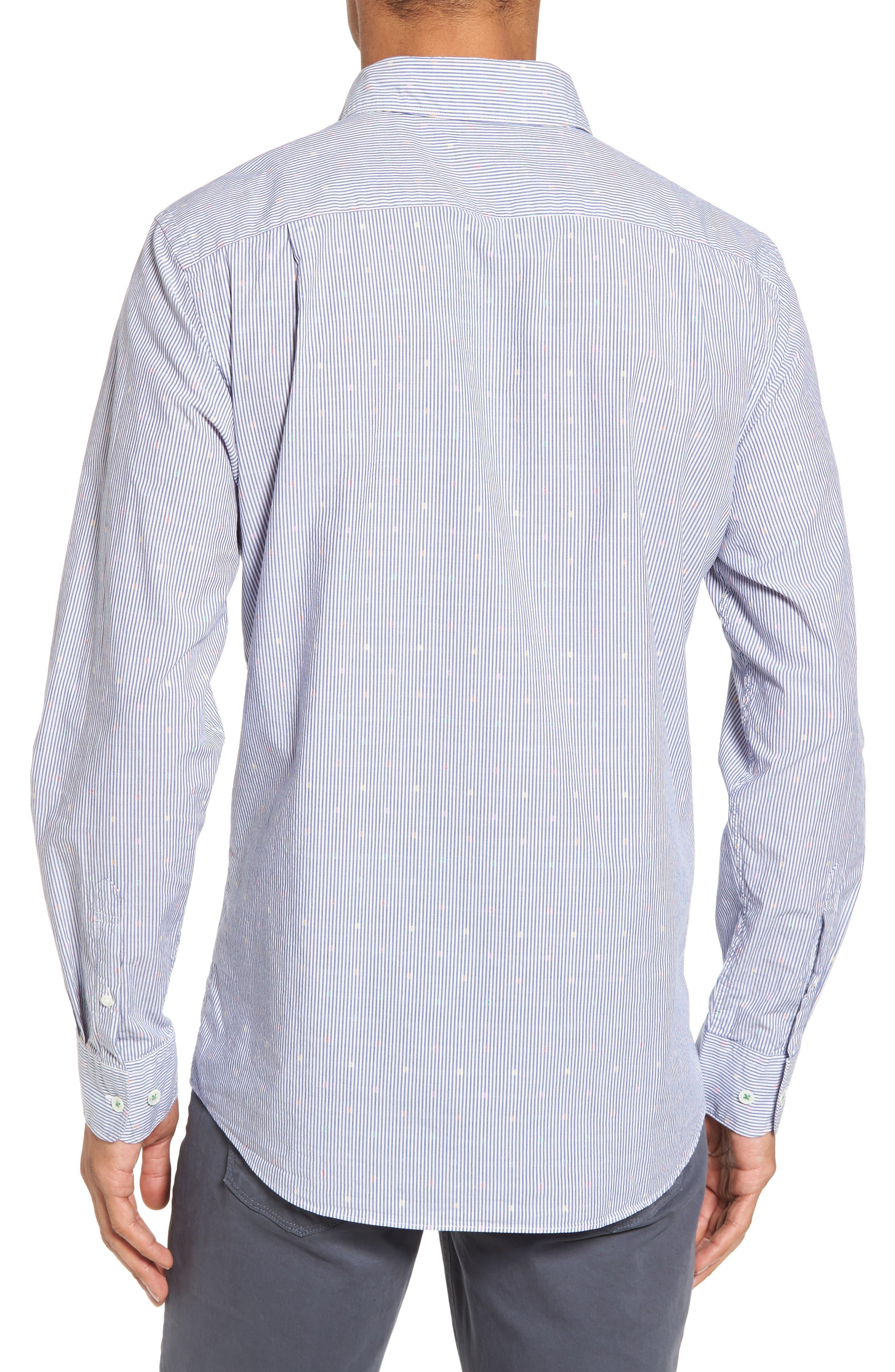 Tamaki River Woven Sport Shirt,                             Alternate thumbnail 2, color,                             423