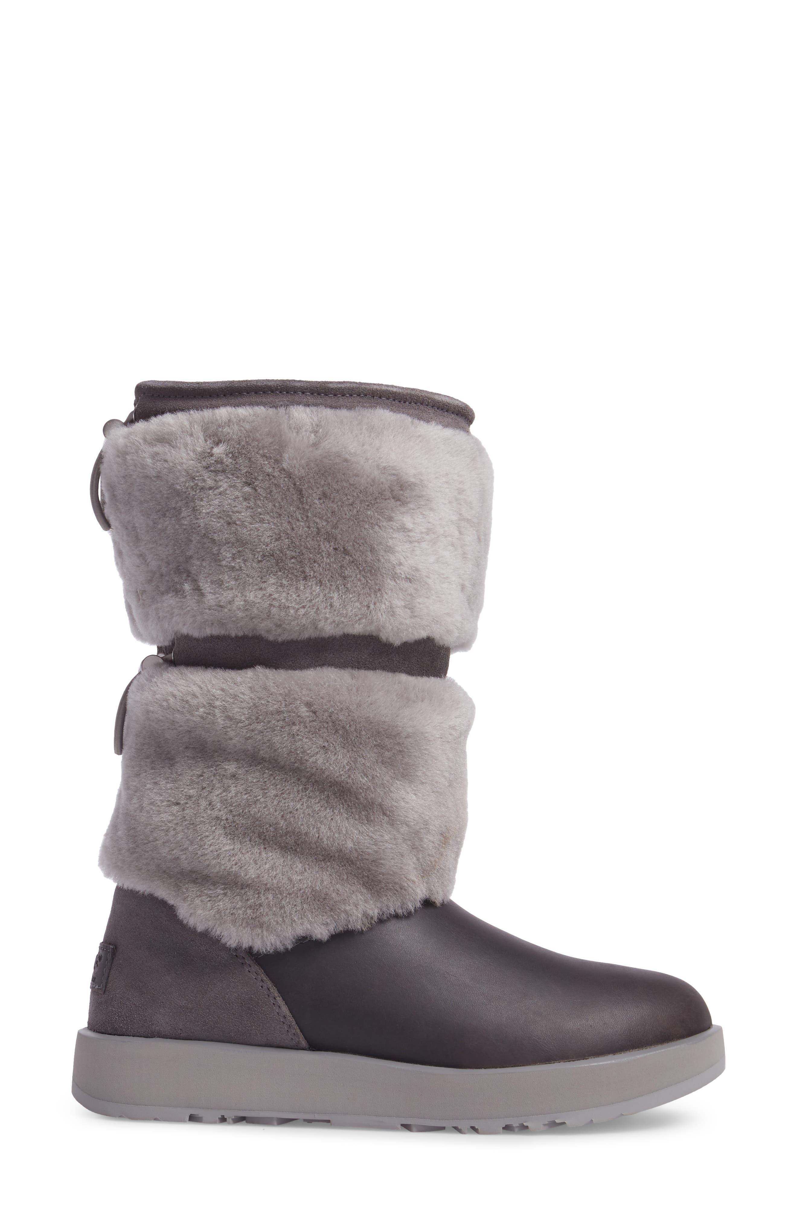 Reykir Waterproof Snow Boot,                             Alternate thumbnail 8, color,