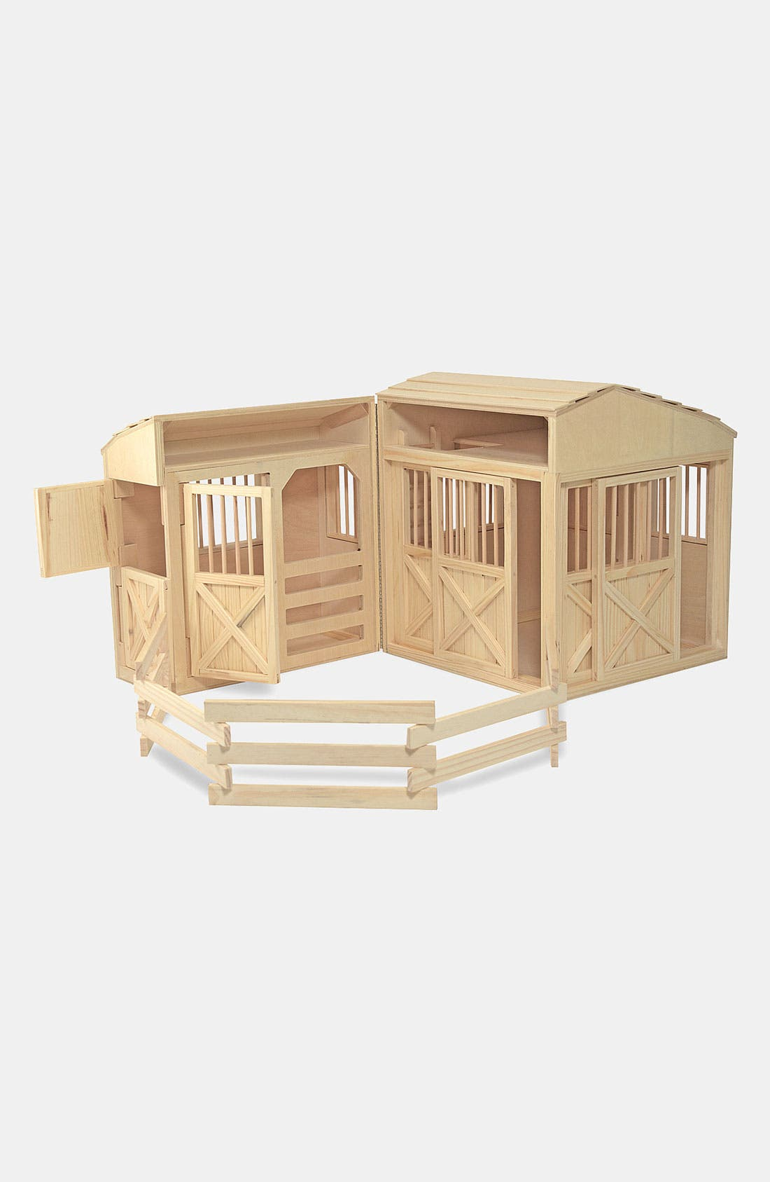 MELISSA & DOUG,                             Folding Horse Stable,                             Alternate thumbnail 3, color,                             VARIOUS