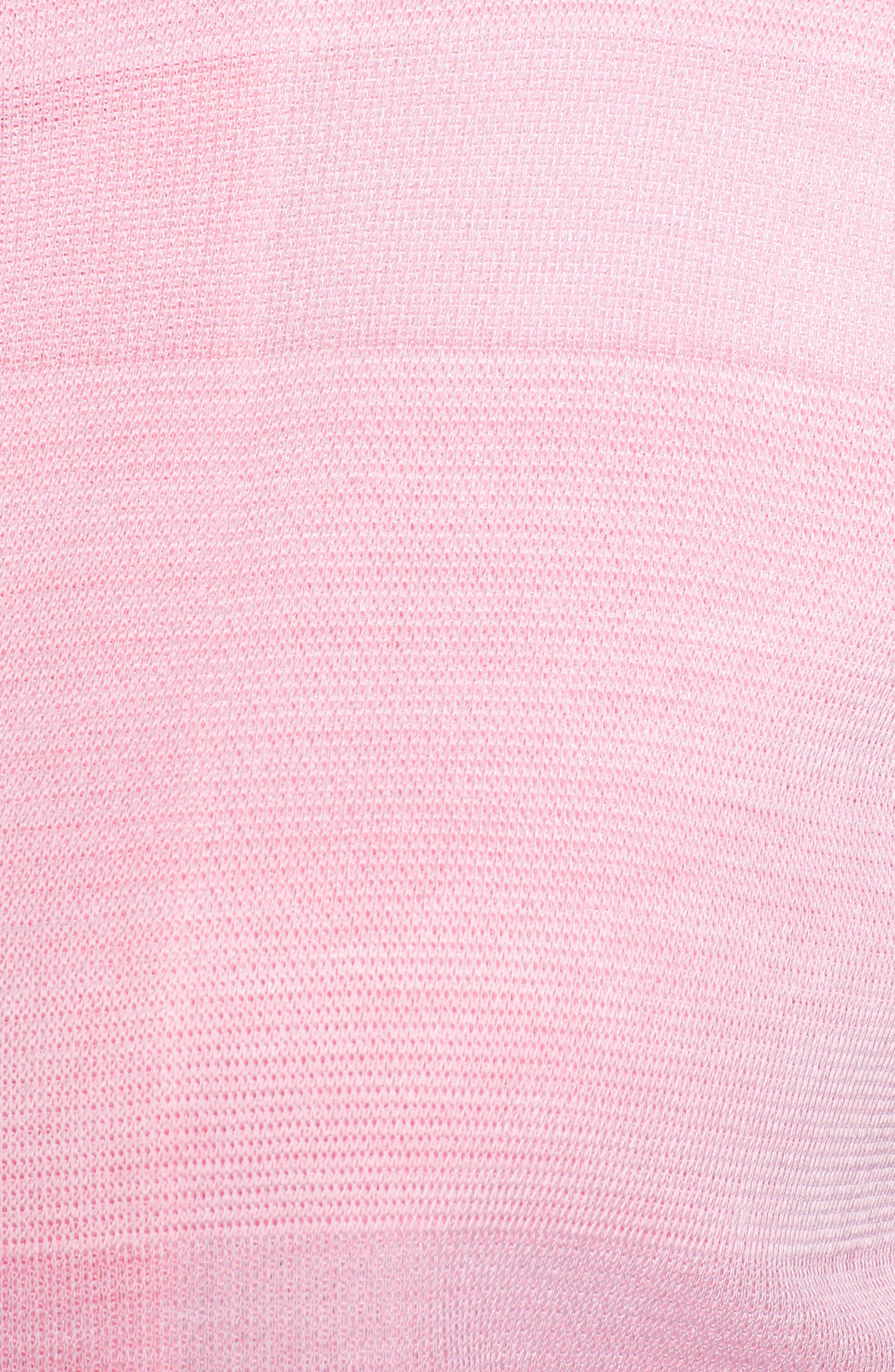 Floral Knit Jacket,                             Alternate thumbnail 6, color,                             MULTI