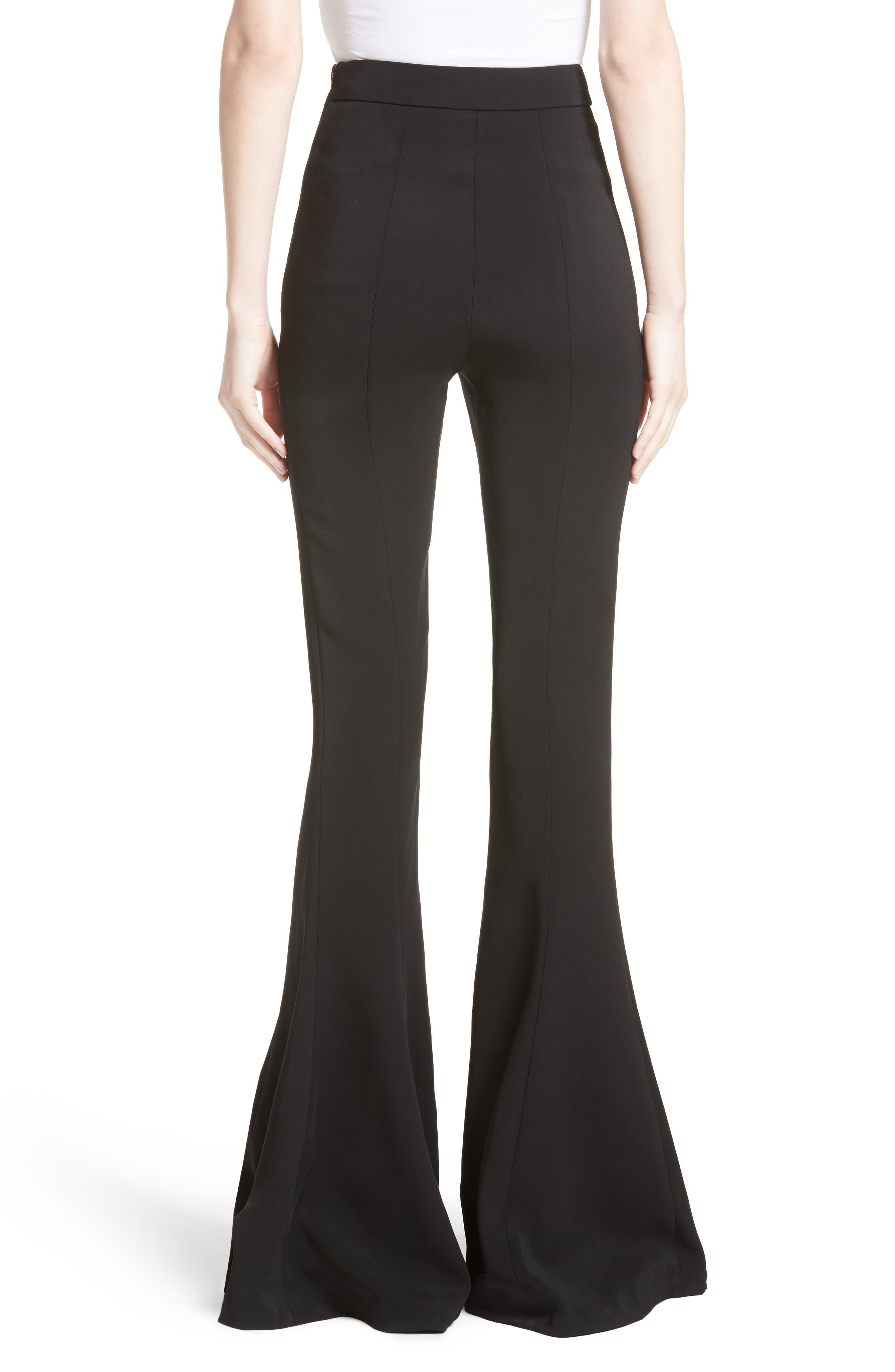 Naomi High Waist Flare Pants,                             Alternate thumbnail 2, color,                             001
