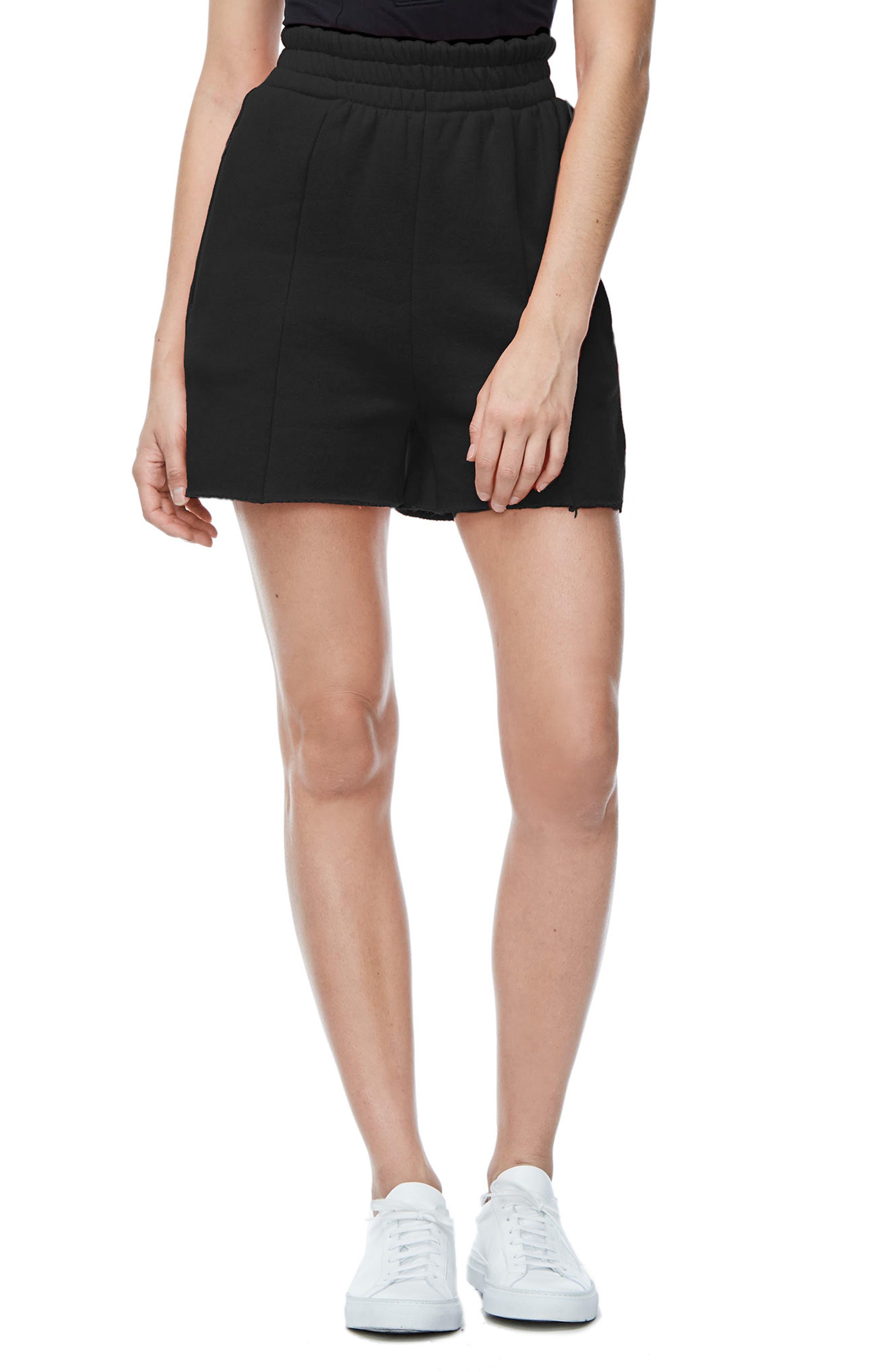 Good Sweats The High Waist Shorts,                             Alternate thumbnail 2, color,                             002