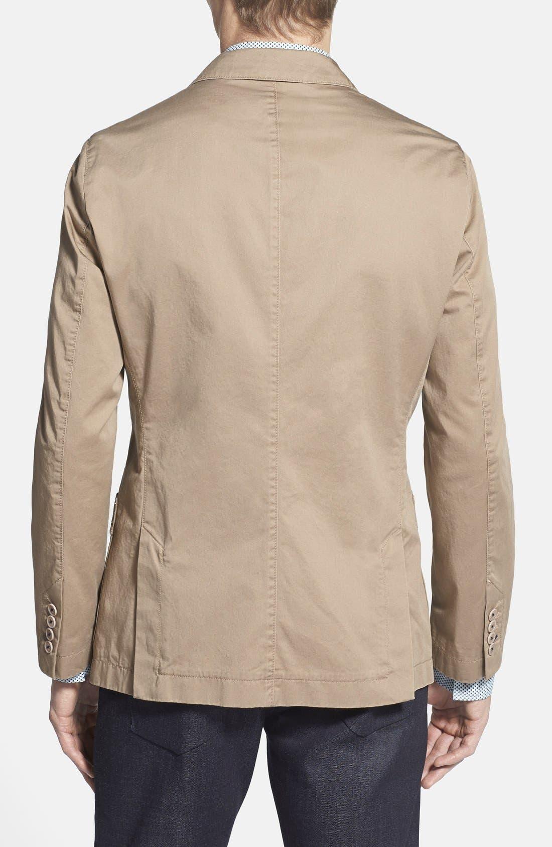 BOSS,                             'Menvin' Trim Fit Cotton Twill Sport Coat,                             Alternate thumbnail 5, color,                             262