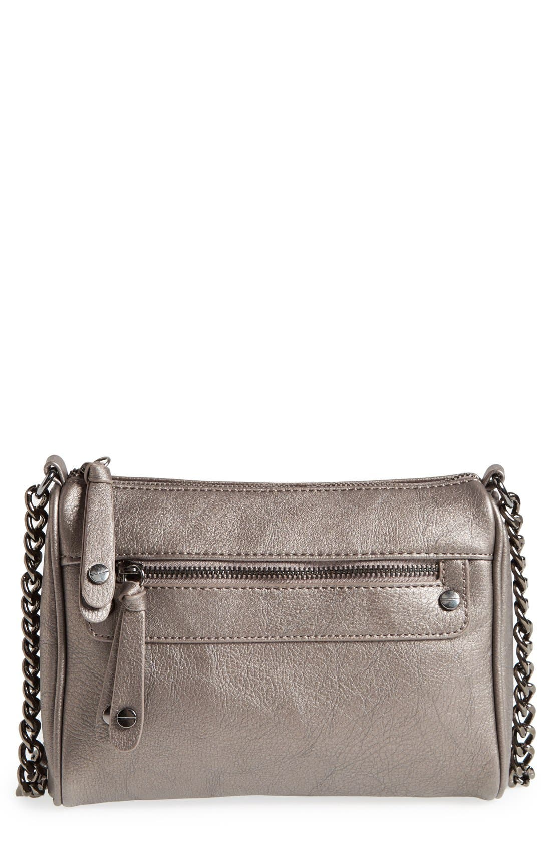 Double Stud Crossbody Bag,                             Main thumbnail 4, color,