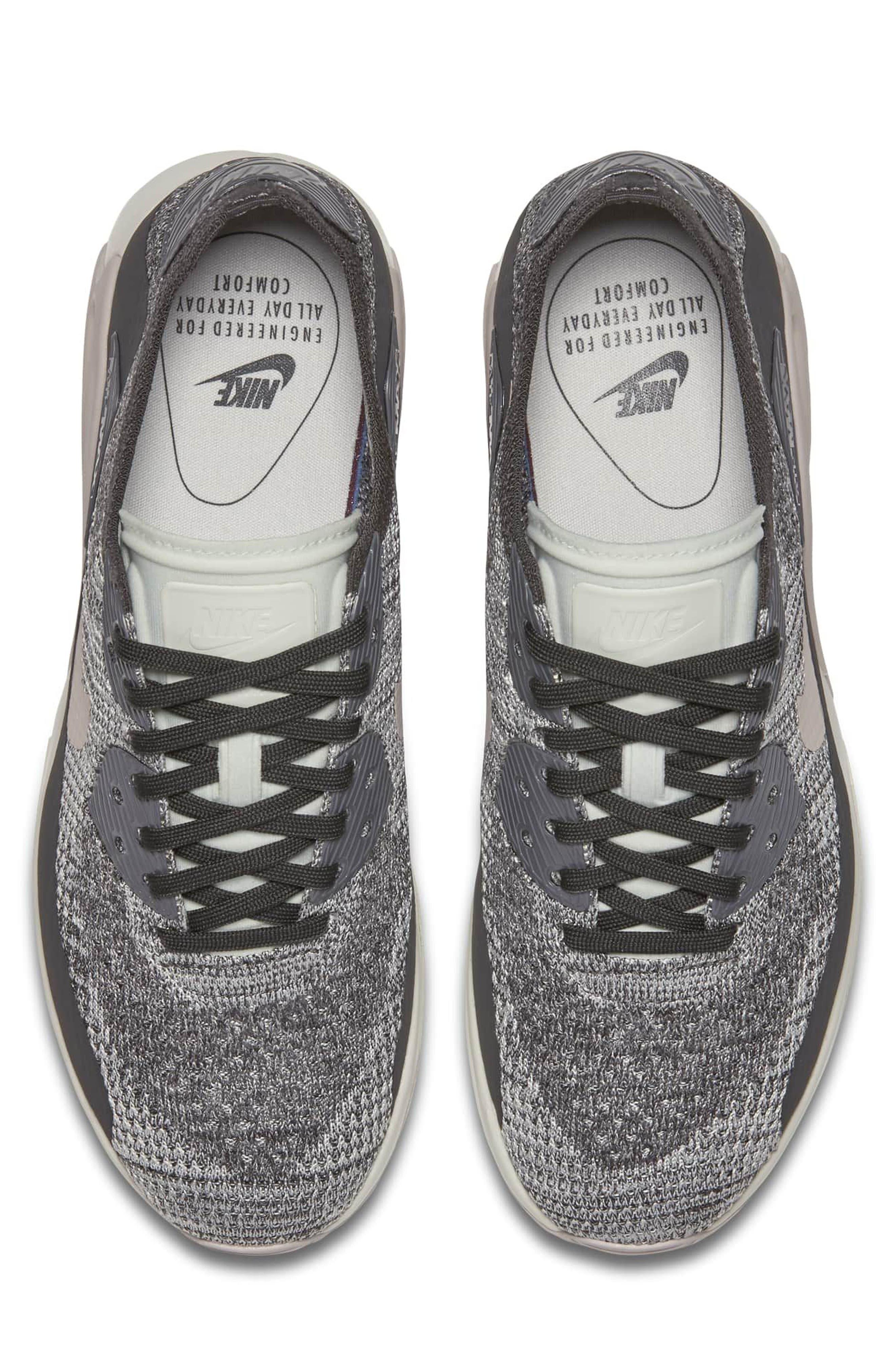 Air Max 90 Flyknit Ultra 2.0 Sneaker,                             Alternate thumbnail 11, color,