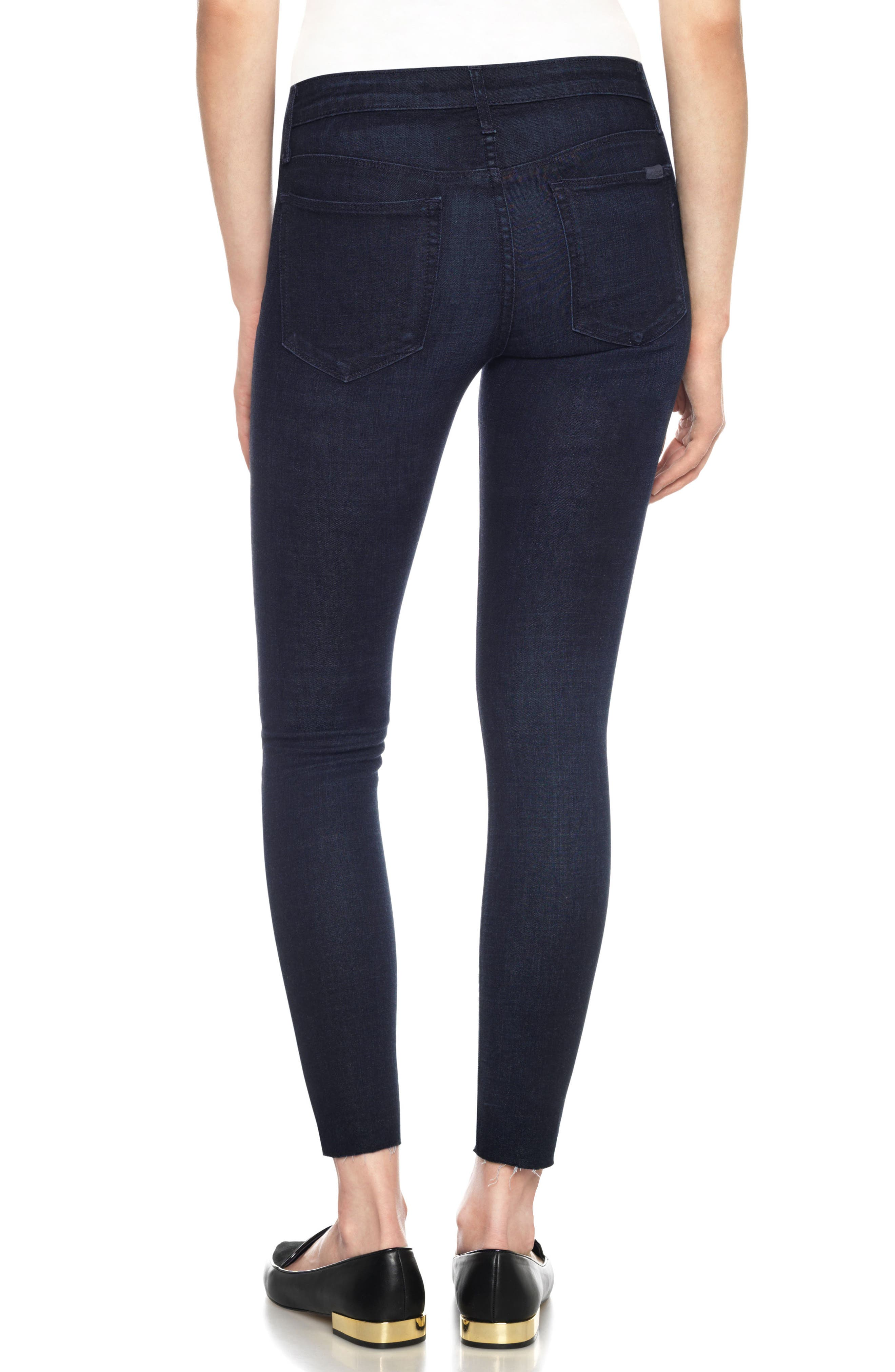 Flawless - Icon Ankle Skinny Jeans,                             Alternate thumbnail 2, color,                             400