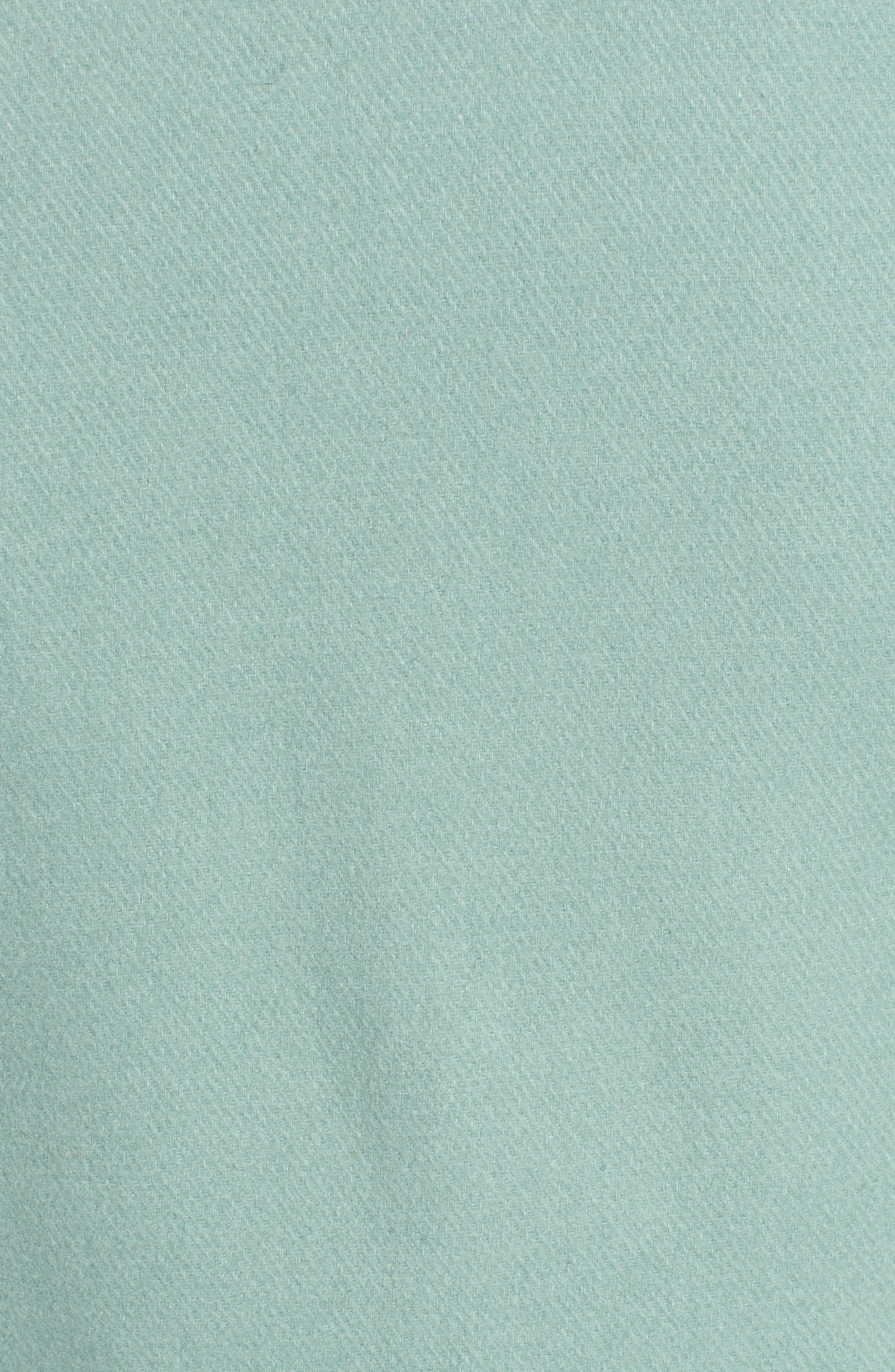 faux fur collar wool blend coat,                             Alternate thumbnail 7, color,                             300