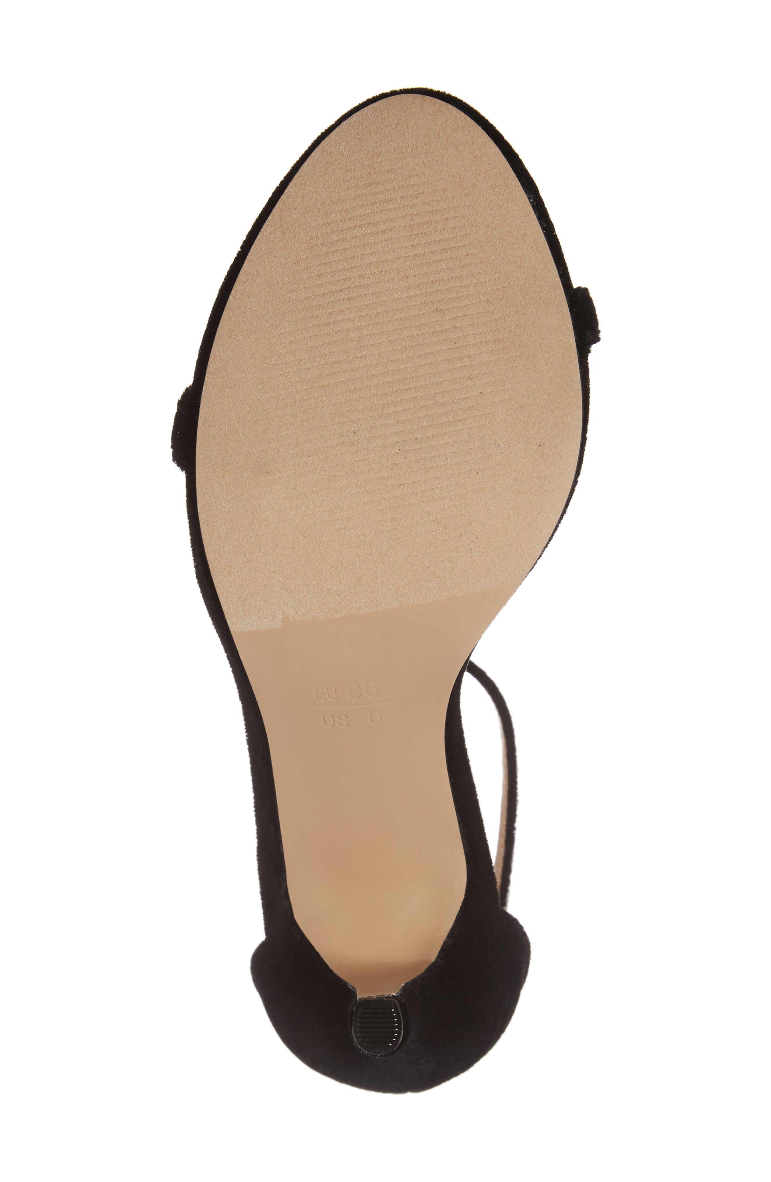 Mini Ankle Strap Sandal,                             Alternate thumbnail 6, color,                             001
