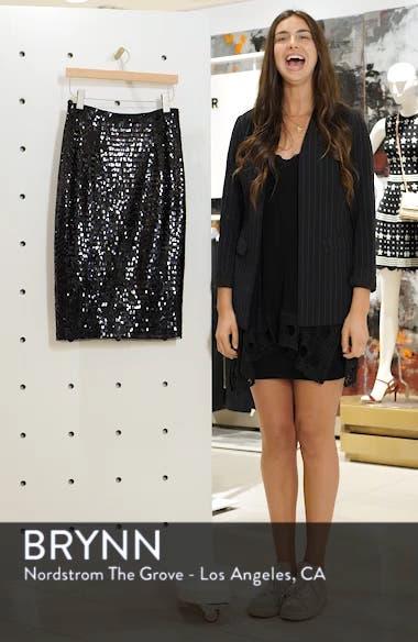 Paillette Sequin Pencil Skirt, sales video thumbnail