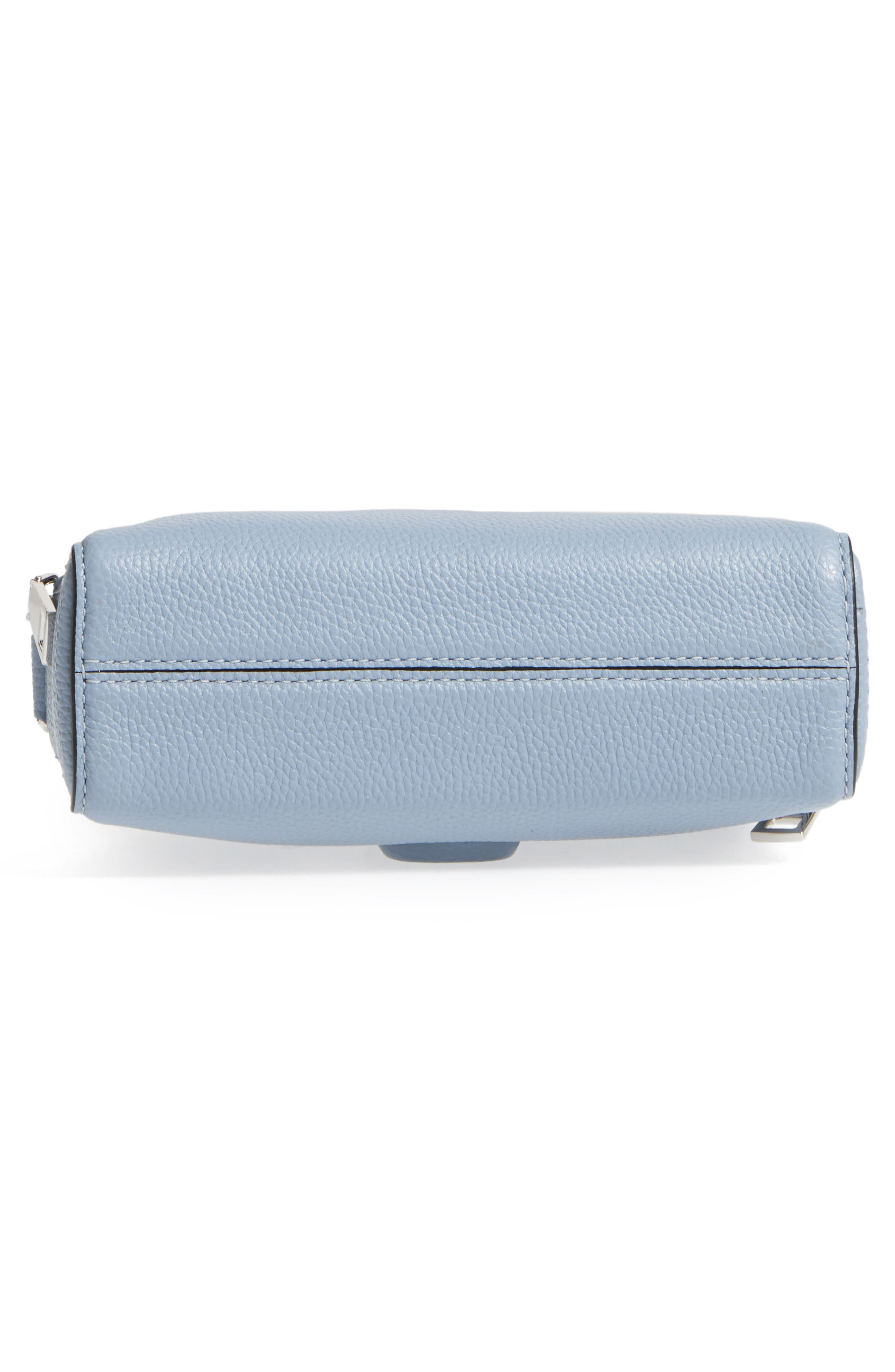 Small Shutter Leather Camera Bag,                             Alternate thumbnail 33, color,