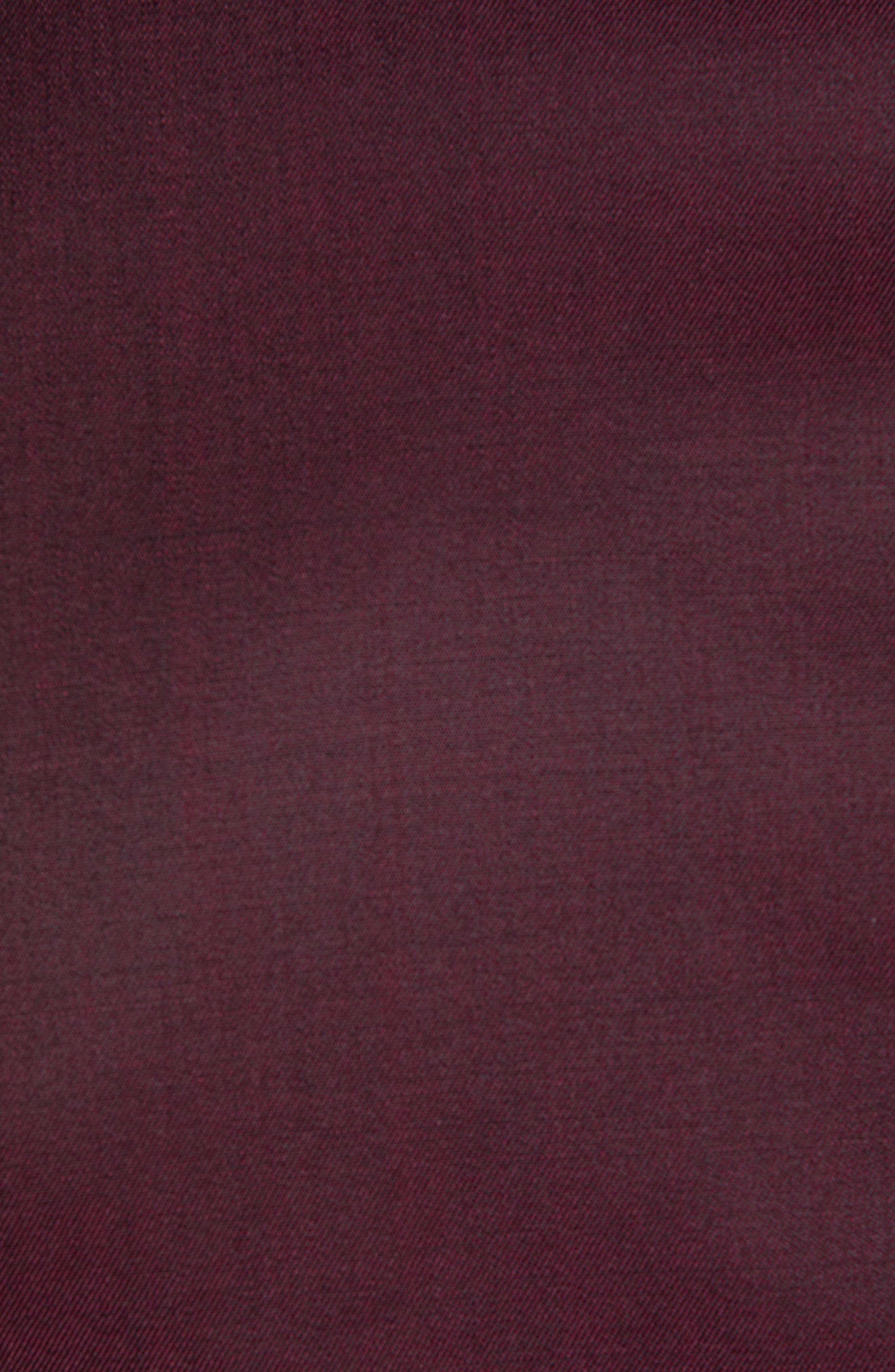 Josh Trim Fit Wool & Mohair Dinner Jacket,                             Alternate thumbnail 6, color,                             BERRY
