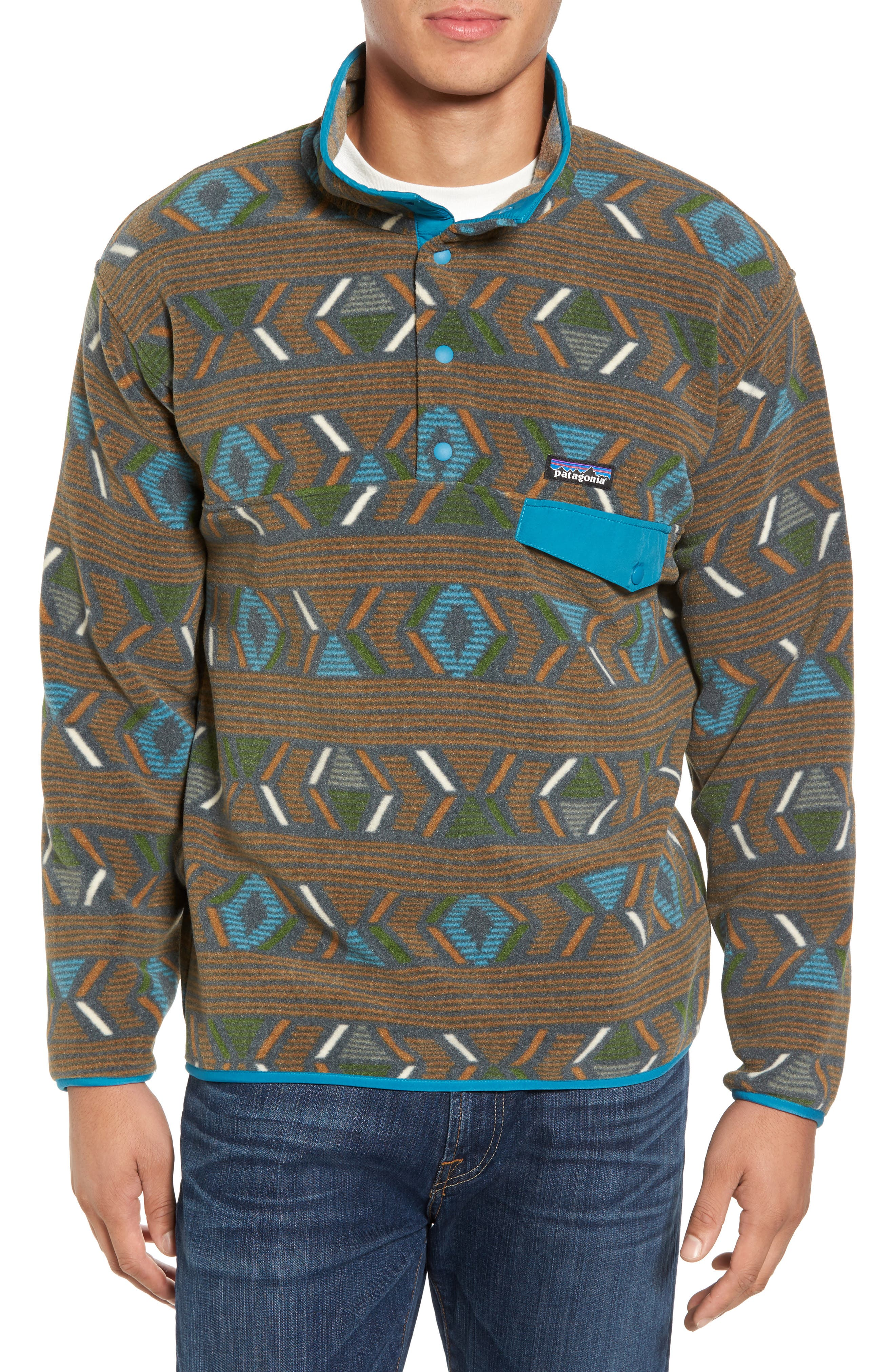 Synchilla<sup>®</sup> Snap-T<sup>®</sup> Pullover,                         Main,                         color, 203