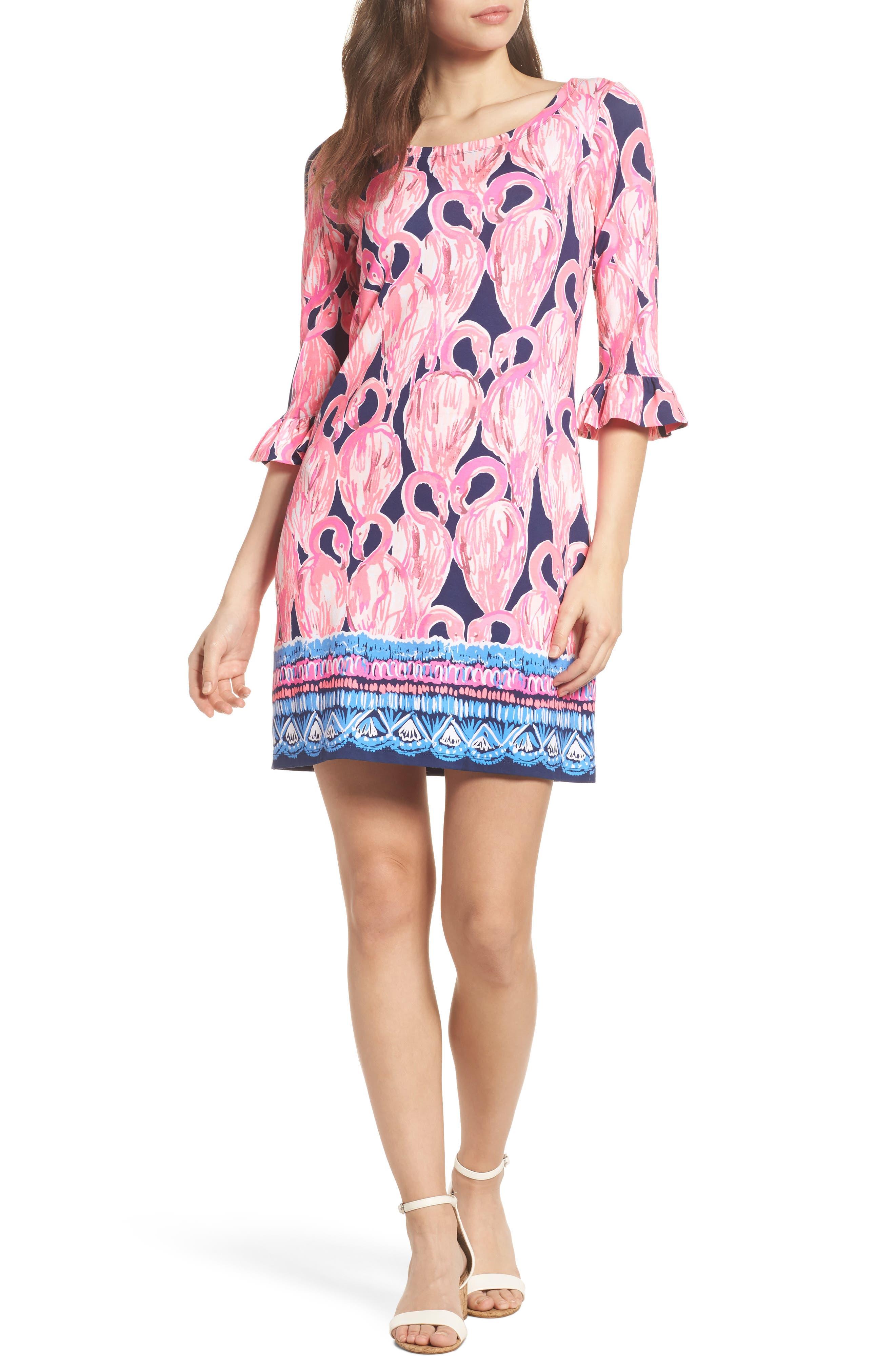 Sophie UPF 50+ Shift Dress,                             Alternate thumbnail 5, color,