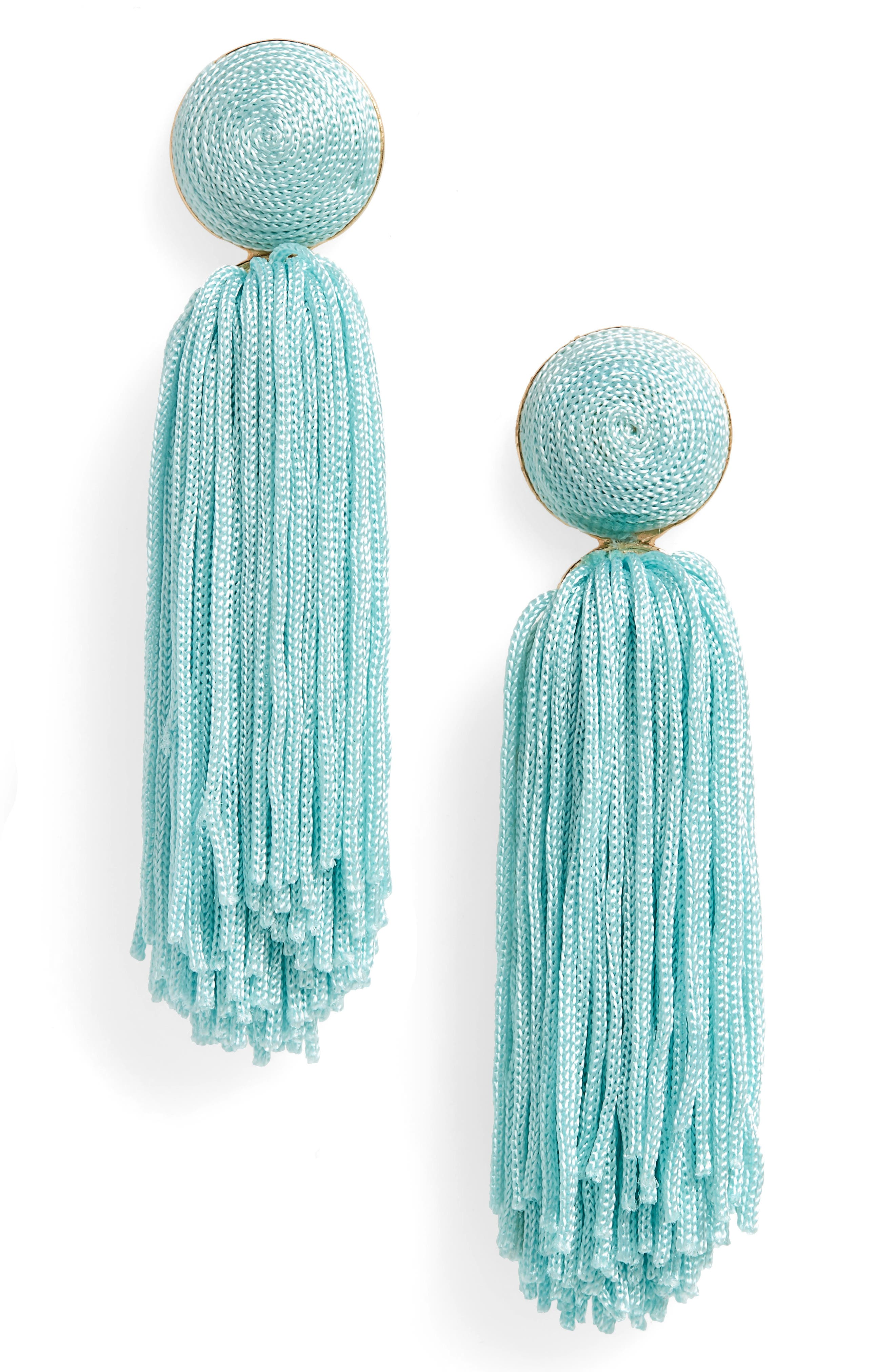 Sonatina Tassel Earrings,                             Main thumbnail 5, color,