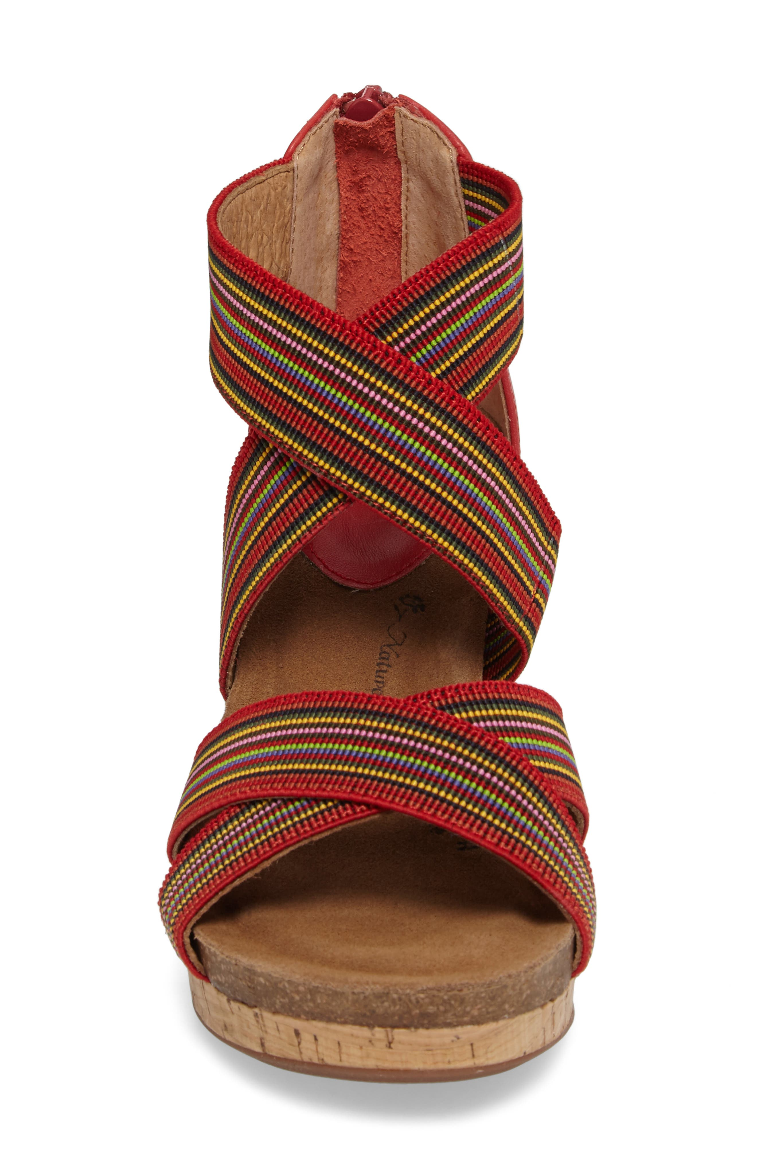 Cary Cross Strap Wedge Sandal,                             Alternate thumbnail 12, color,