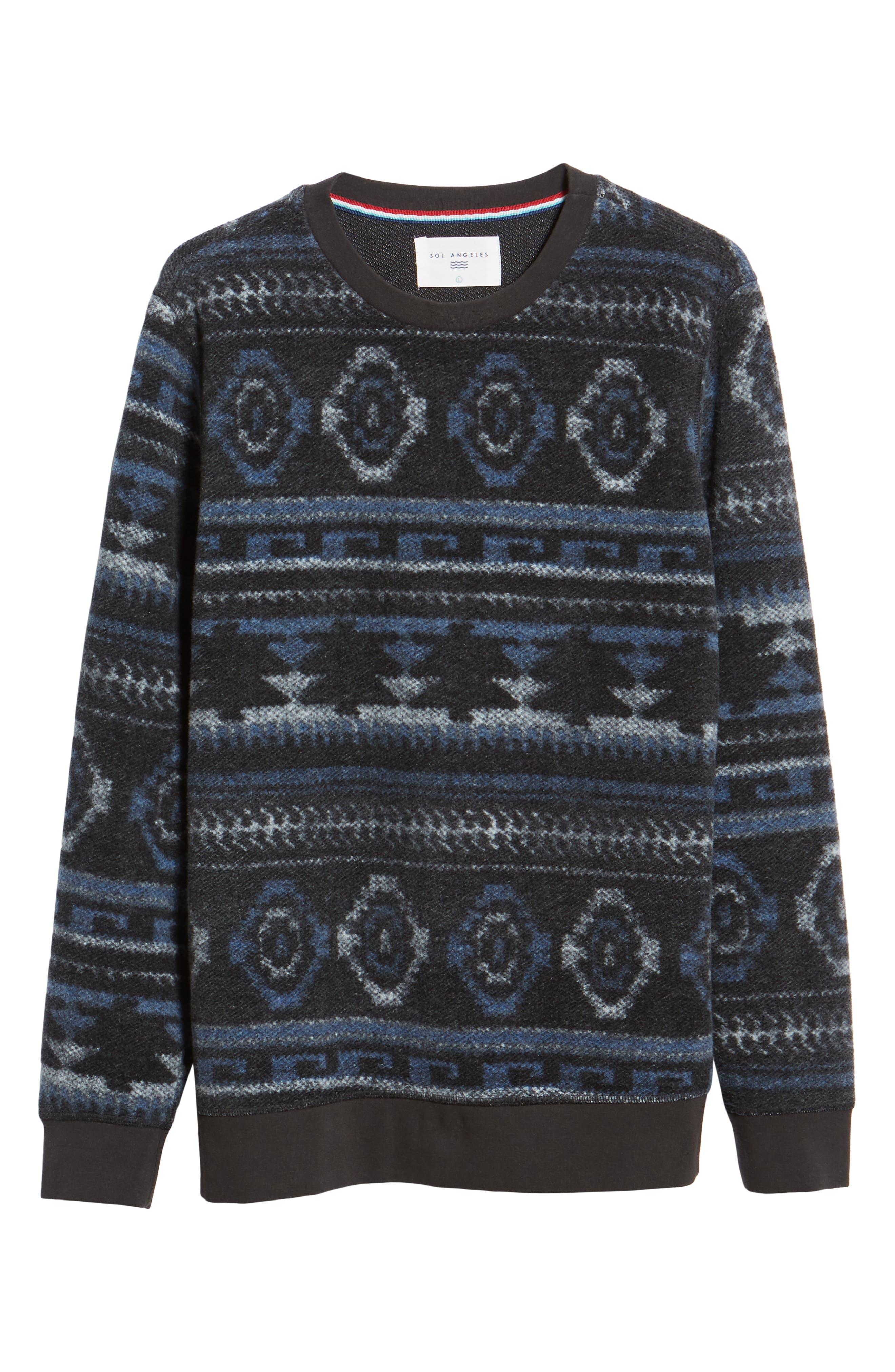 Fleece Sweatshirt,                             Alternate thumbnail 6, color,                             020