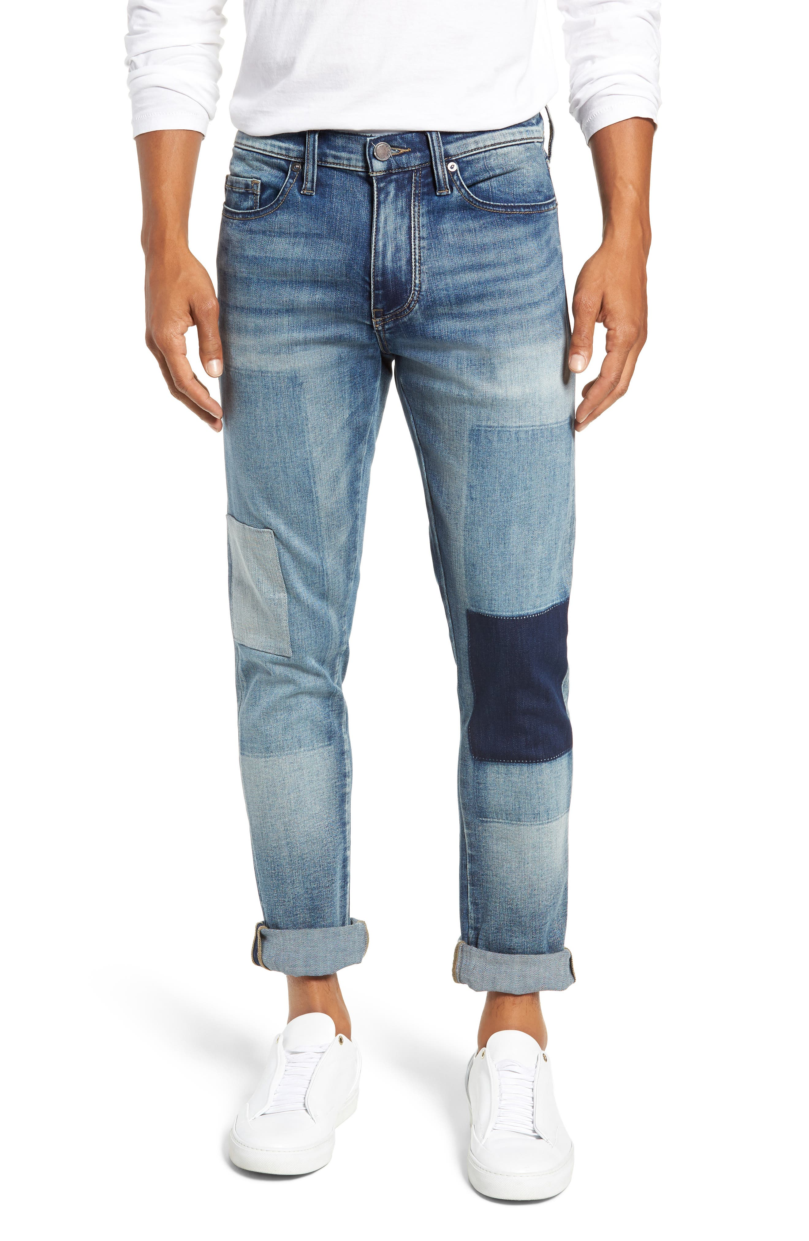 Stanton Straight Leg Jeans,                             Main thumbnail 1, color,                             COLD ONE