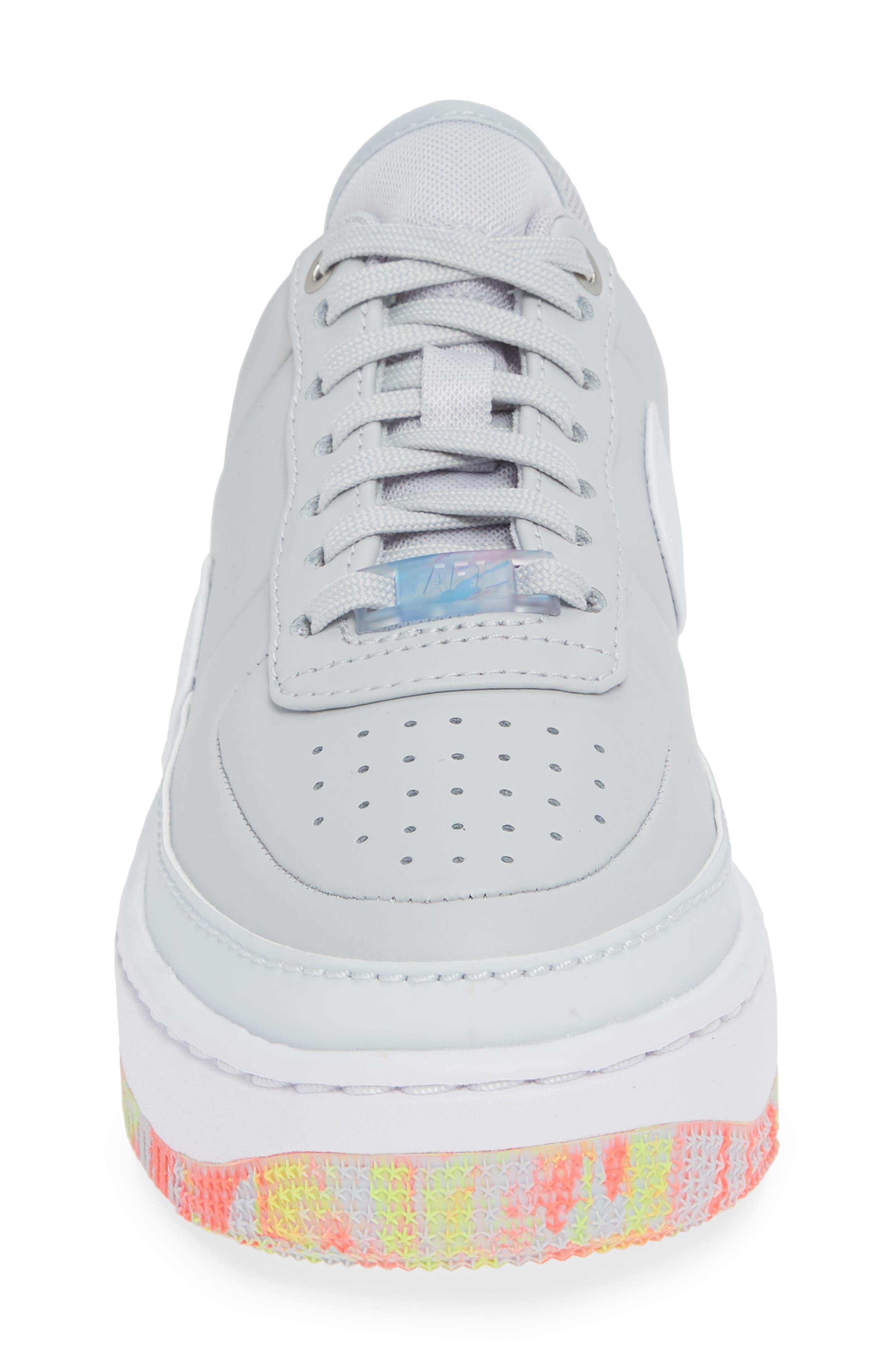 Air Force 1 Jester XX Print Sneaker,                             Alternate thumbnail 4, color,                             020
