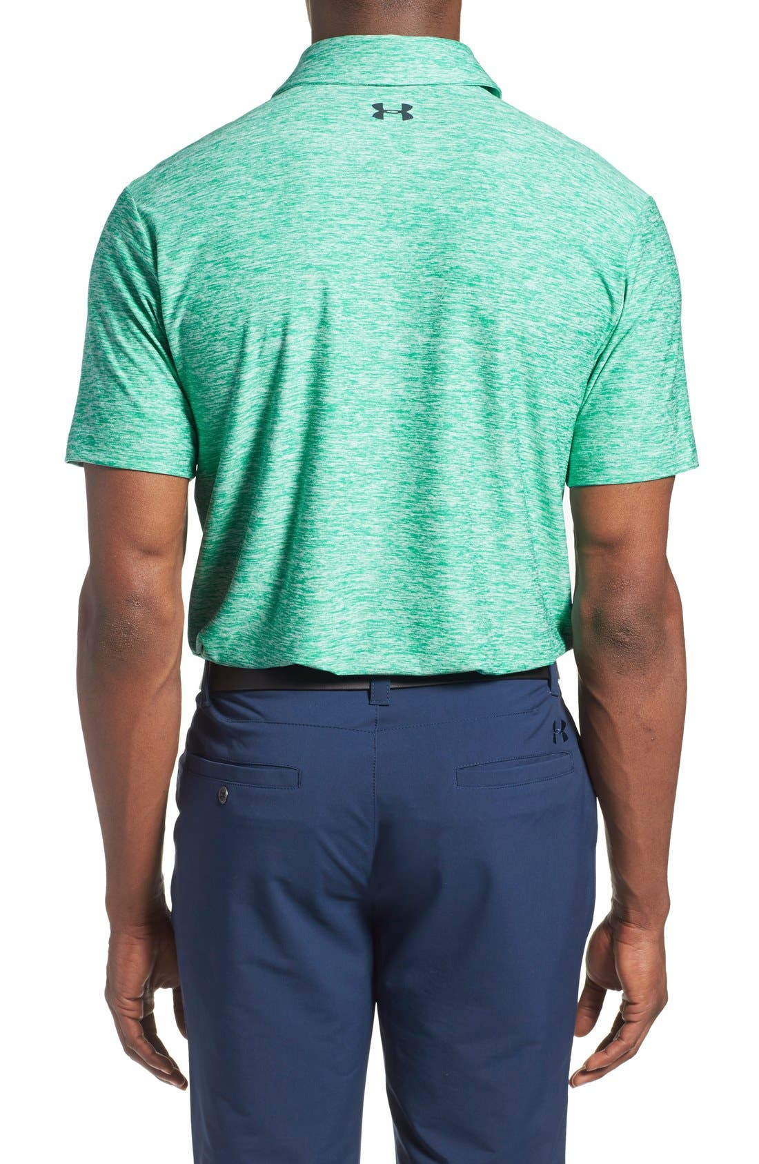 'Playoff' Loose Fit Short Sleeve Polo,                             Alternate thumbnail 138, color,