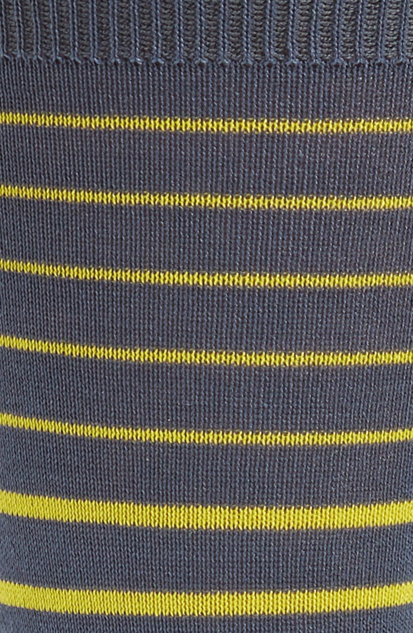 Cube Odd Striped Socks,                             Alternate thumbnail 2, color,                             GREY
