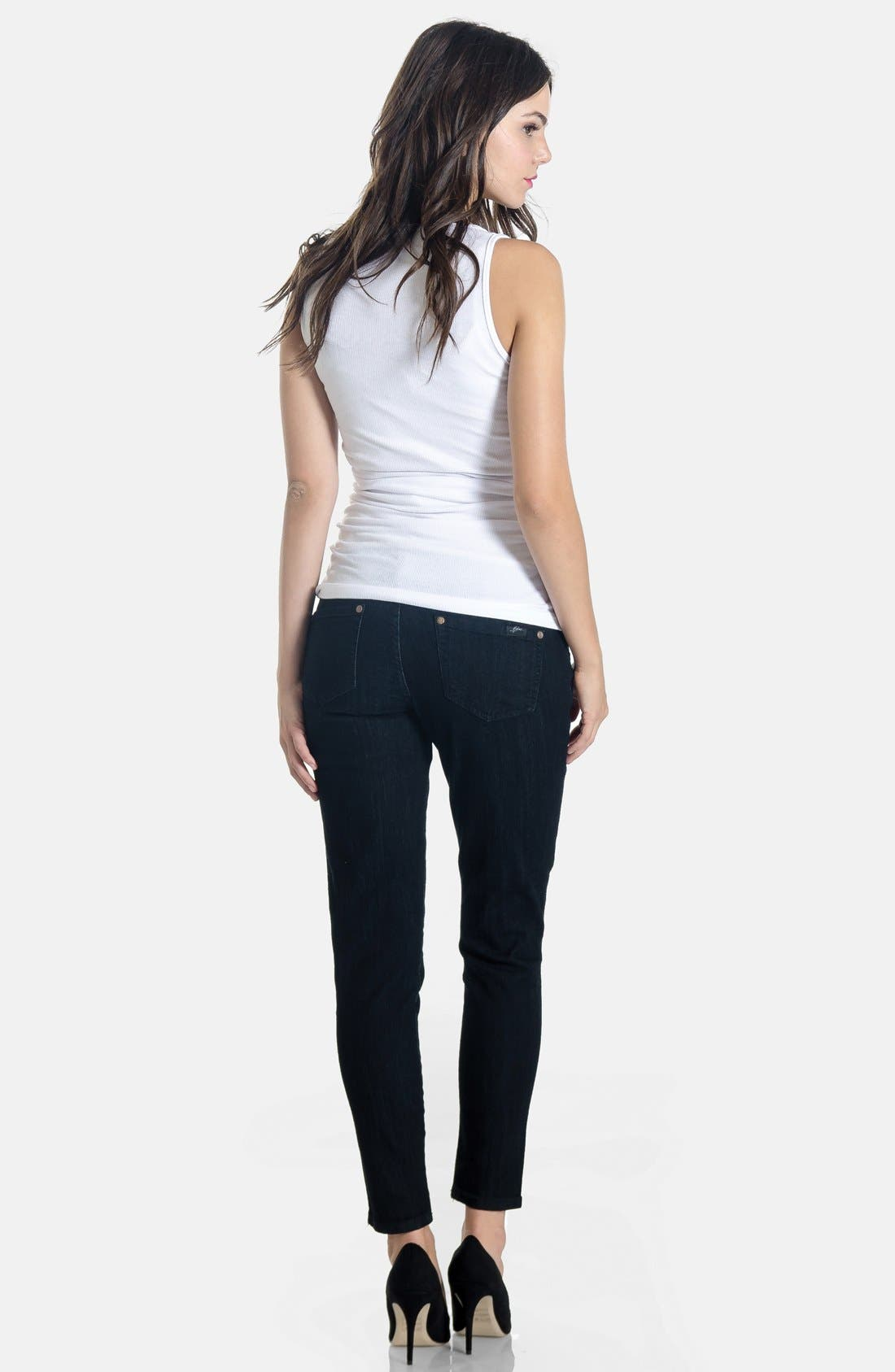Skinny Maternity Jeans,                             Alternate thumbnail 11, color,
