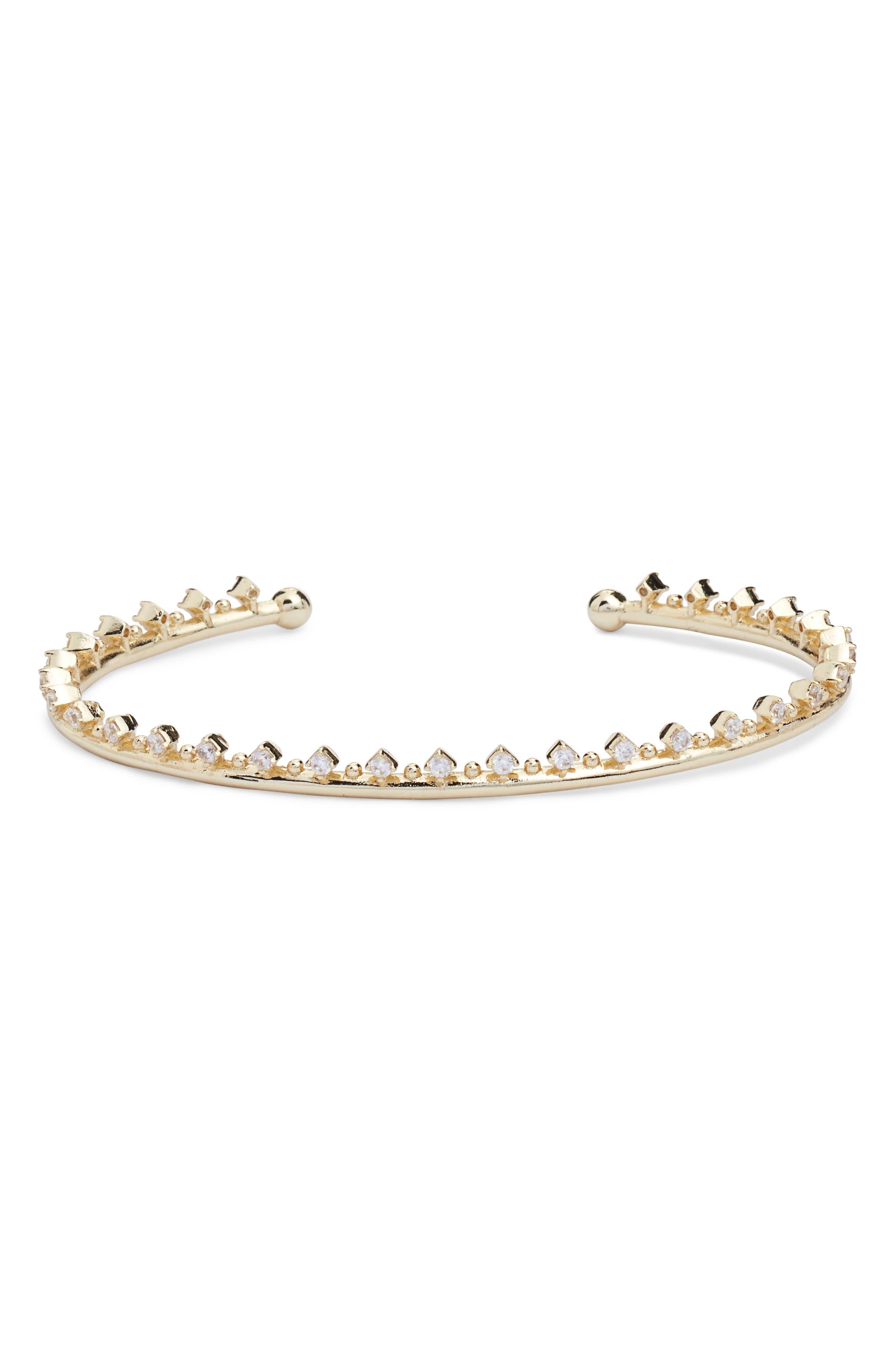 Codi Crystal Cuff Bracelet,                             Main thumbnail 3, color,