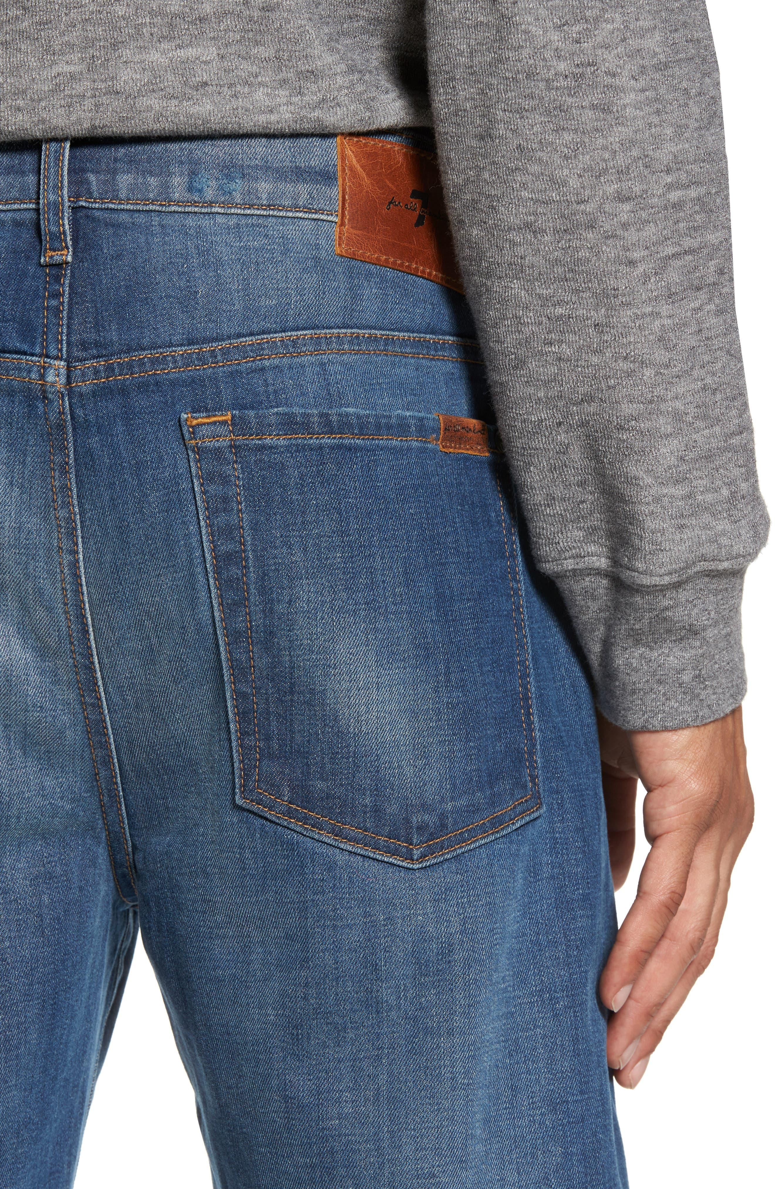 Adrien Slim Fit Jeans,                             Alternate thumbnail 4, color,                             403