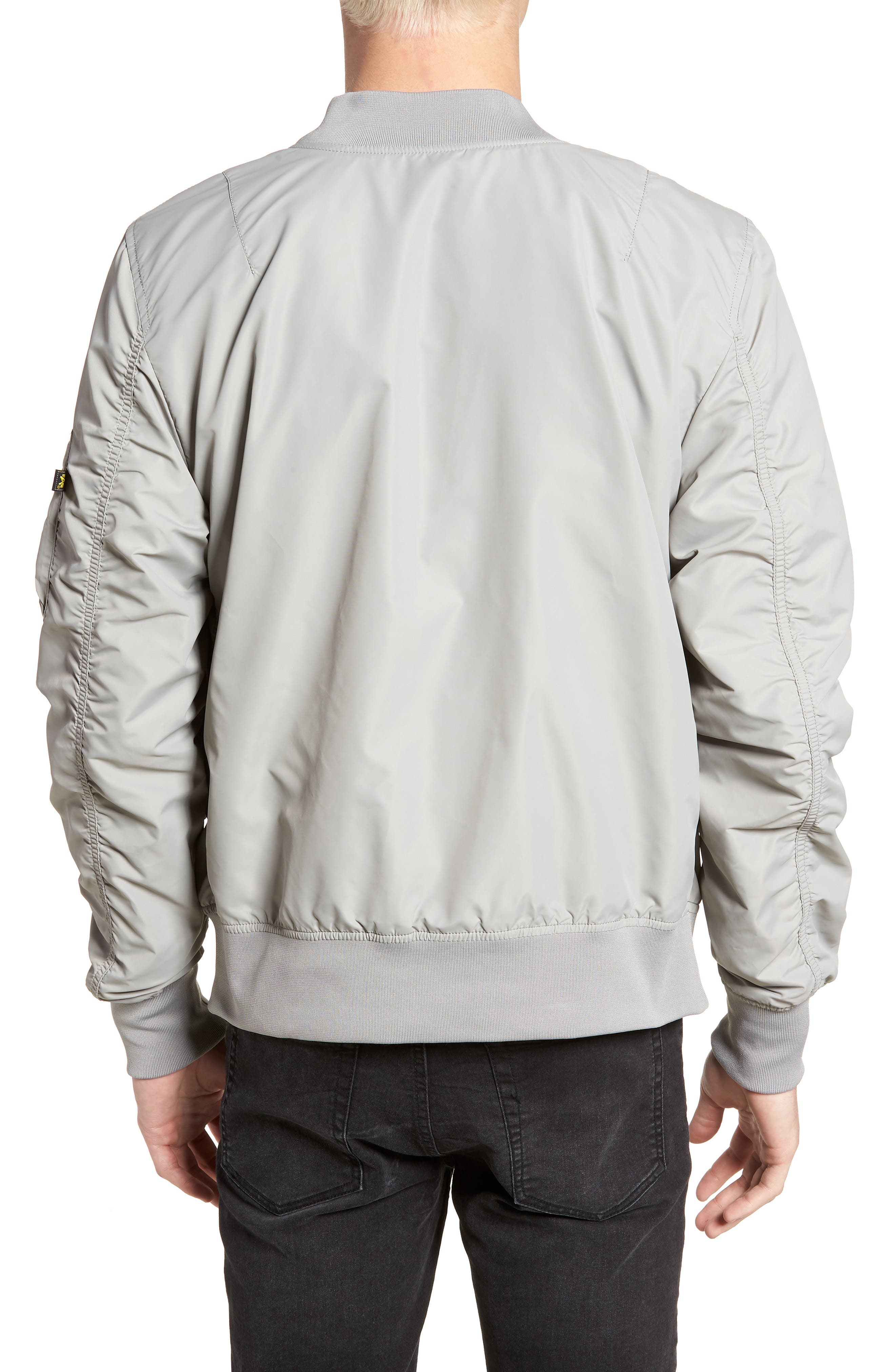 ALPHA INDUSTRIES,                             'L-2B - Dragonfly' Water Resistant Reversible Flight Jacket,                             Alternate thumbnail 2, color,                             020