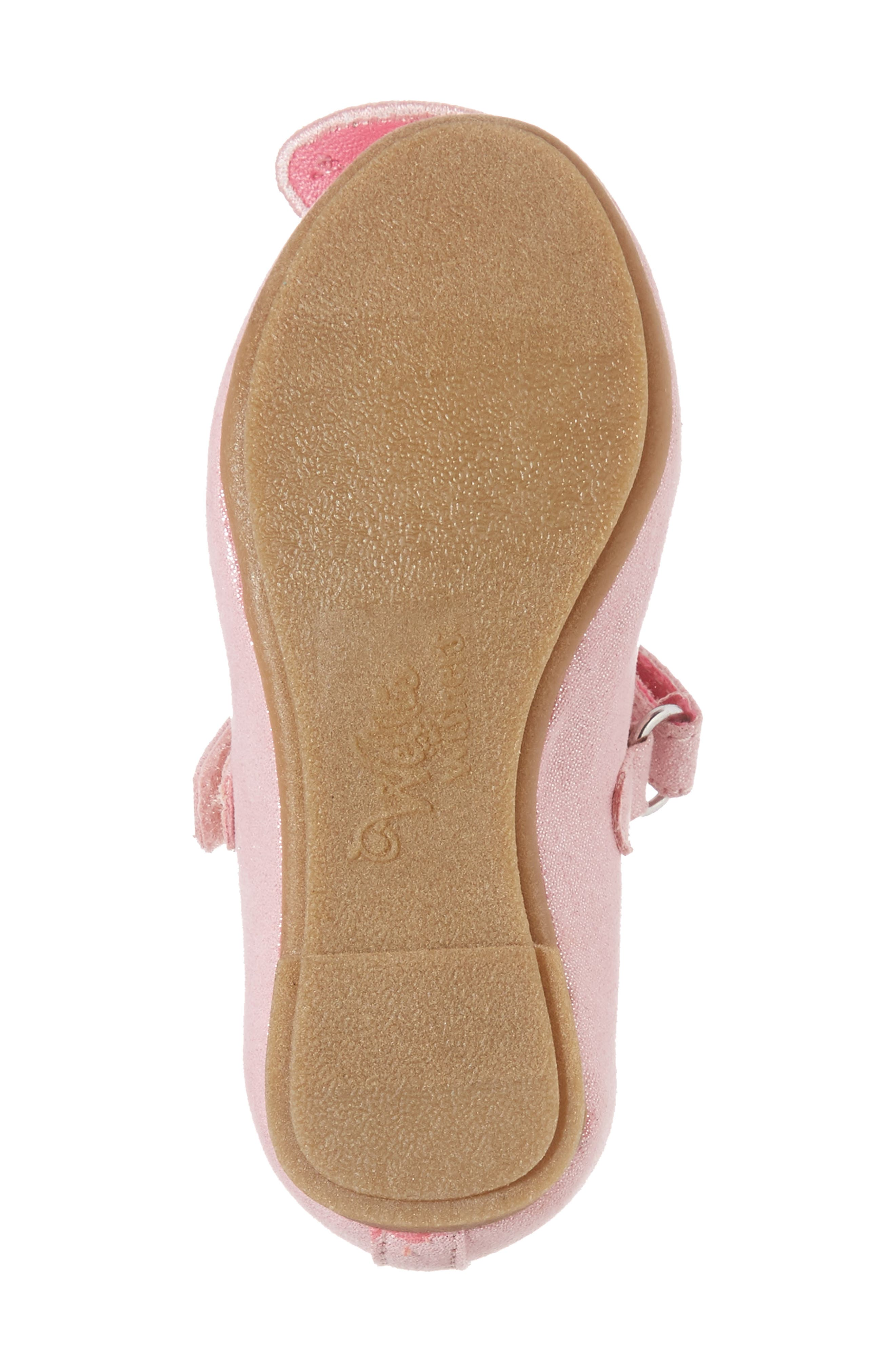WELLIEWISHERS FROM AMERICAN GIRL,                             Flutter Wings Embellished Ballet Flat,                             Alternate thumbnail 6, color,                             650