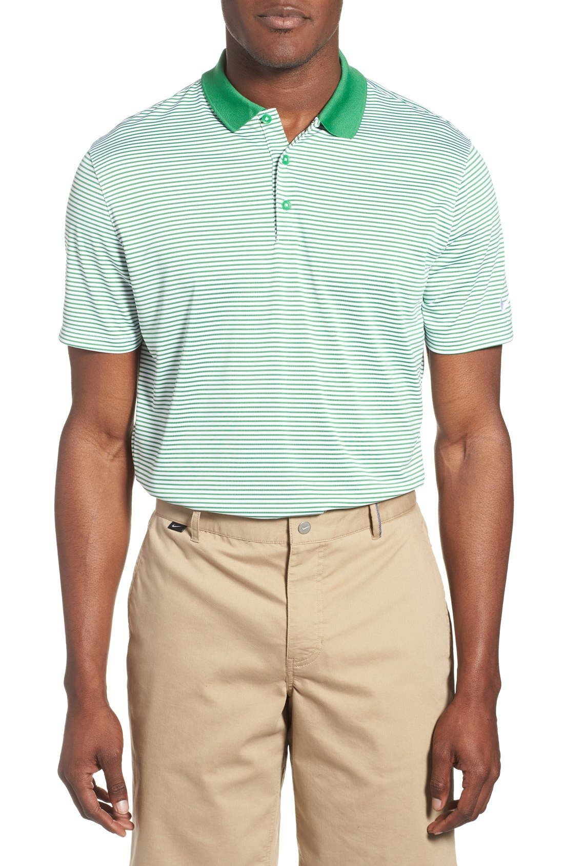 'Victory Stripe' Dri-FIT Golf Polo,                             Main thumbnail 5, color,