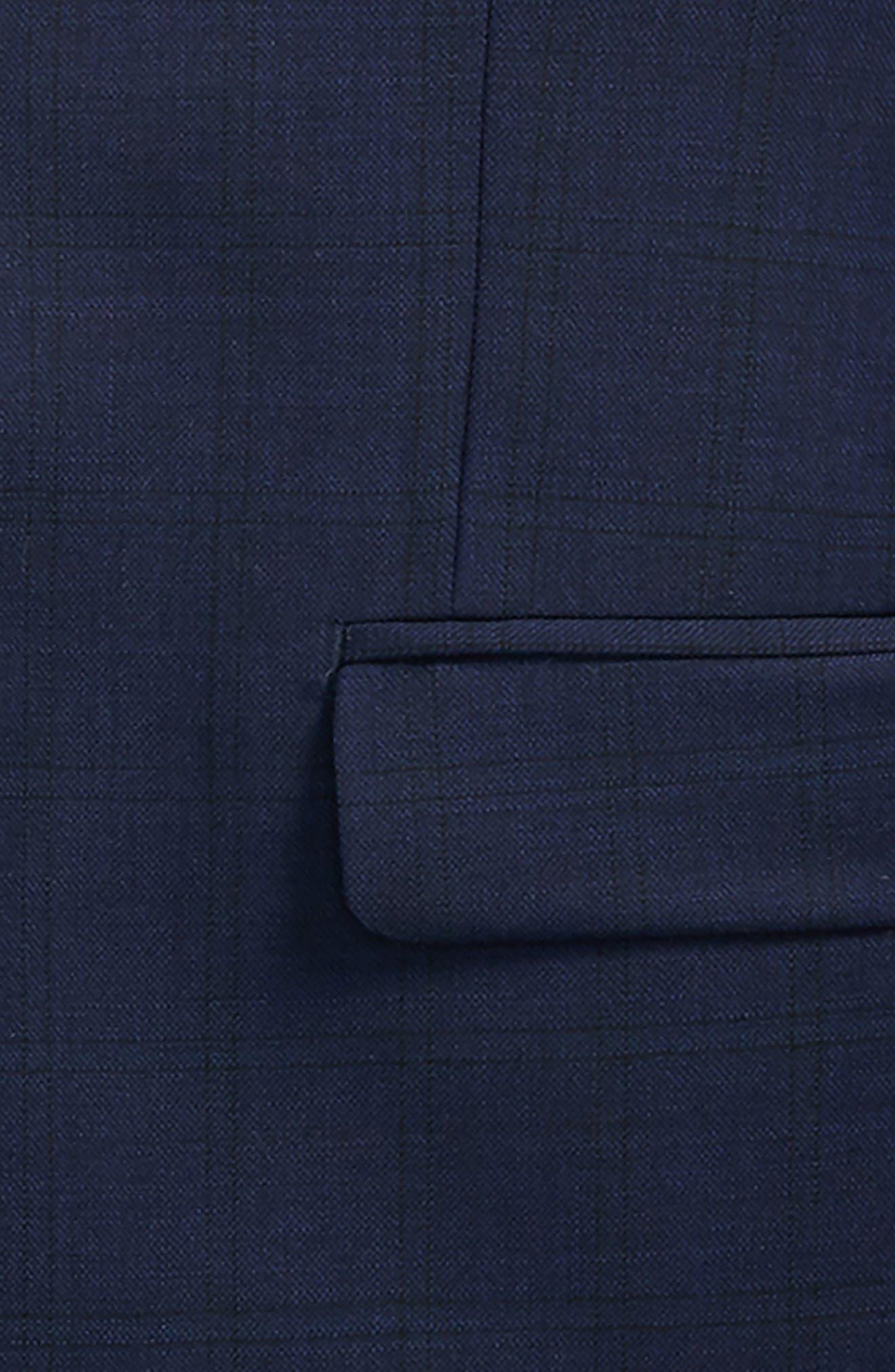 Plaid Wool Suit,                             Alternate thumbnail 2, color,                             410