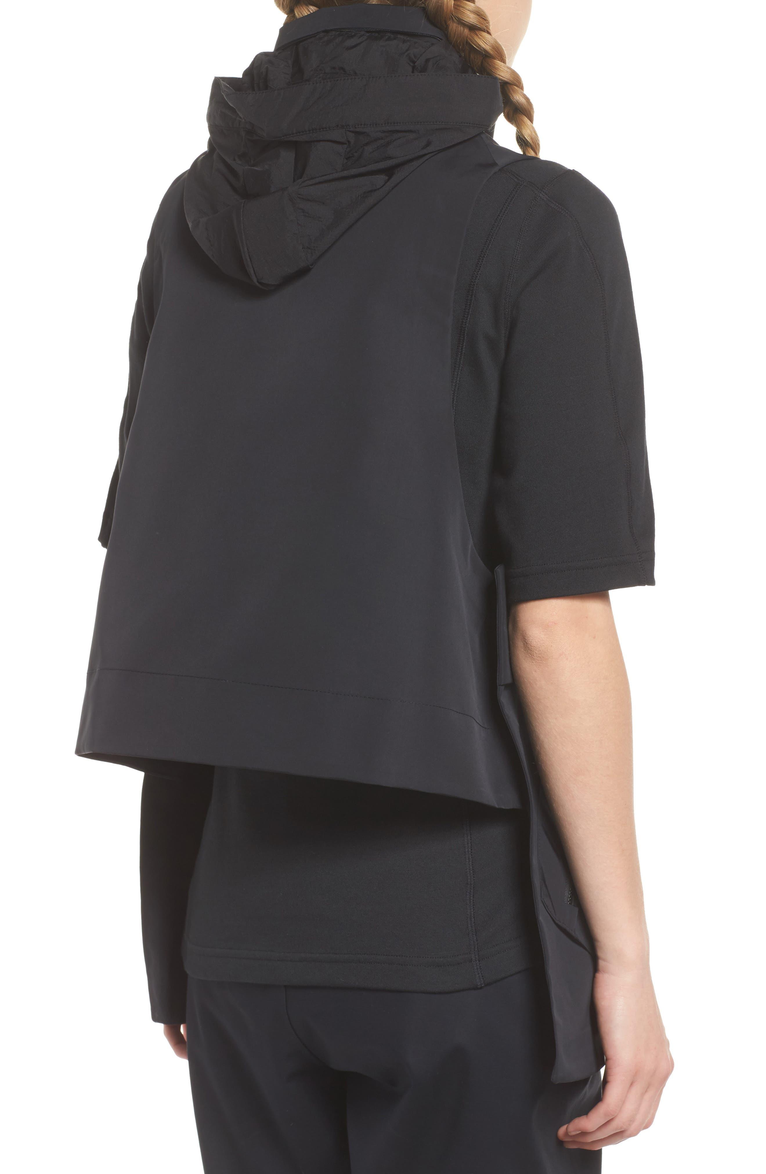 NikeLab ACG Water Repellent Women's Hooded Vest,                             Alternate thumbnail 2, color,                             010