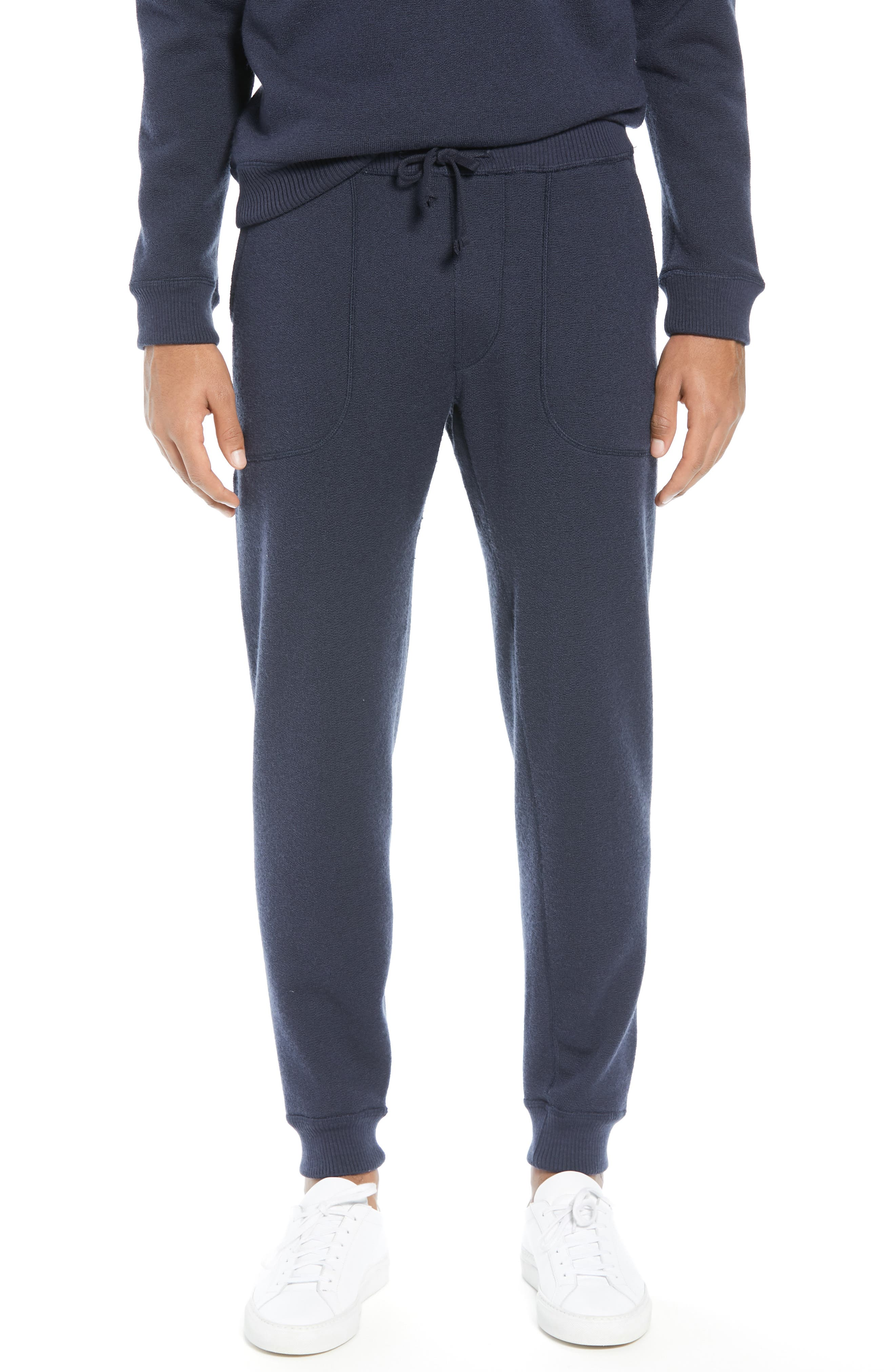 BEST MADE CO.,                             The Merino Wool Fleece Sweatpants,                             Alternate thumbnail 2, color,                             NAVY