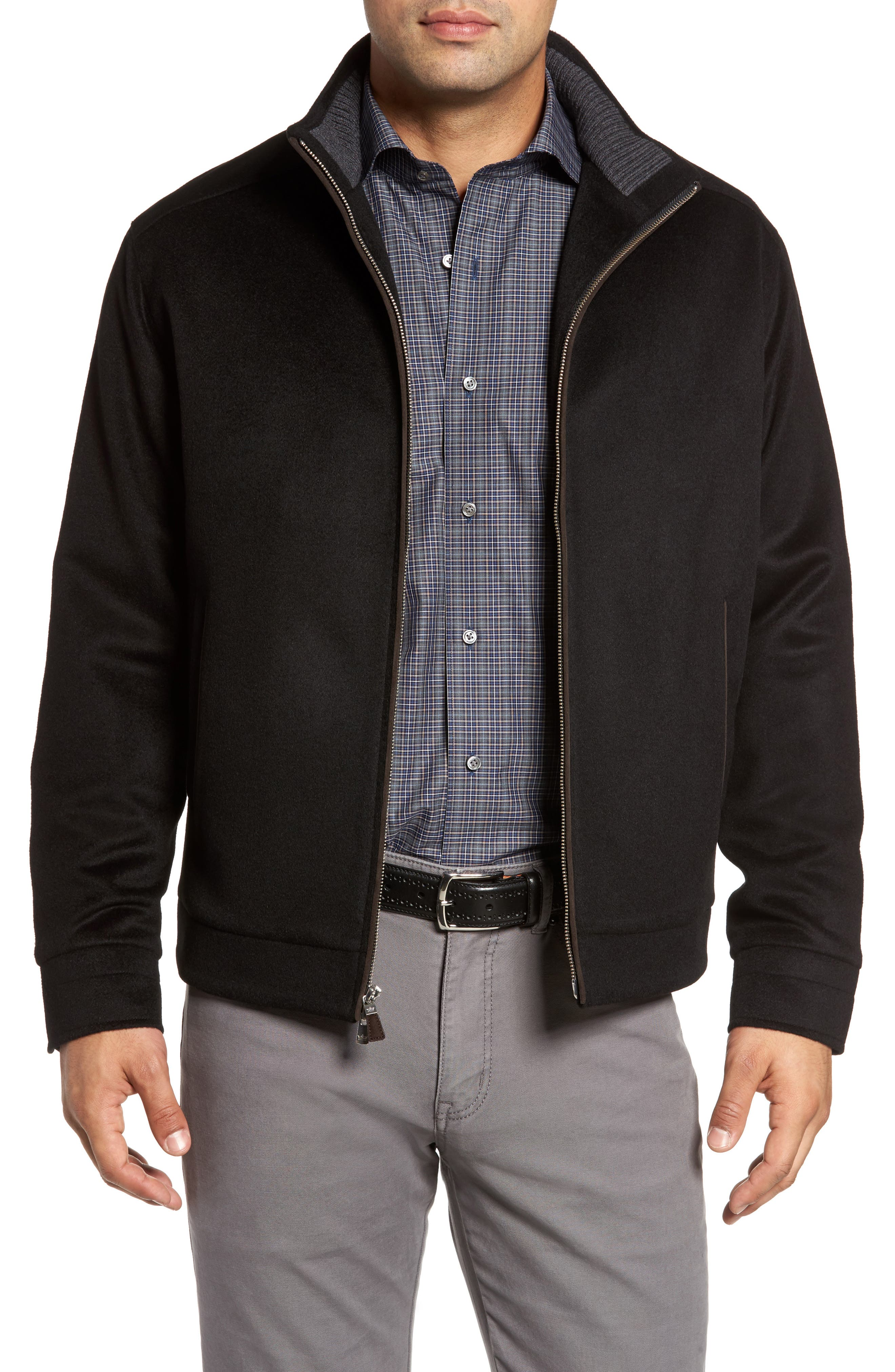 Westport Wool & Cashmere Jacket,                             Main thumbnail 1, color,                             001