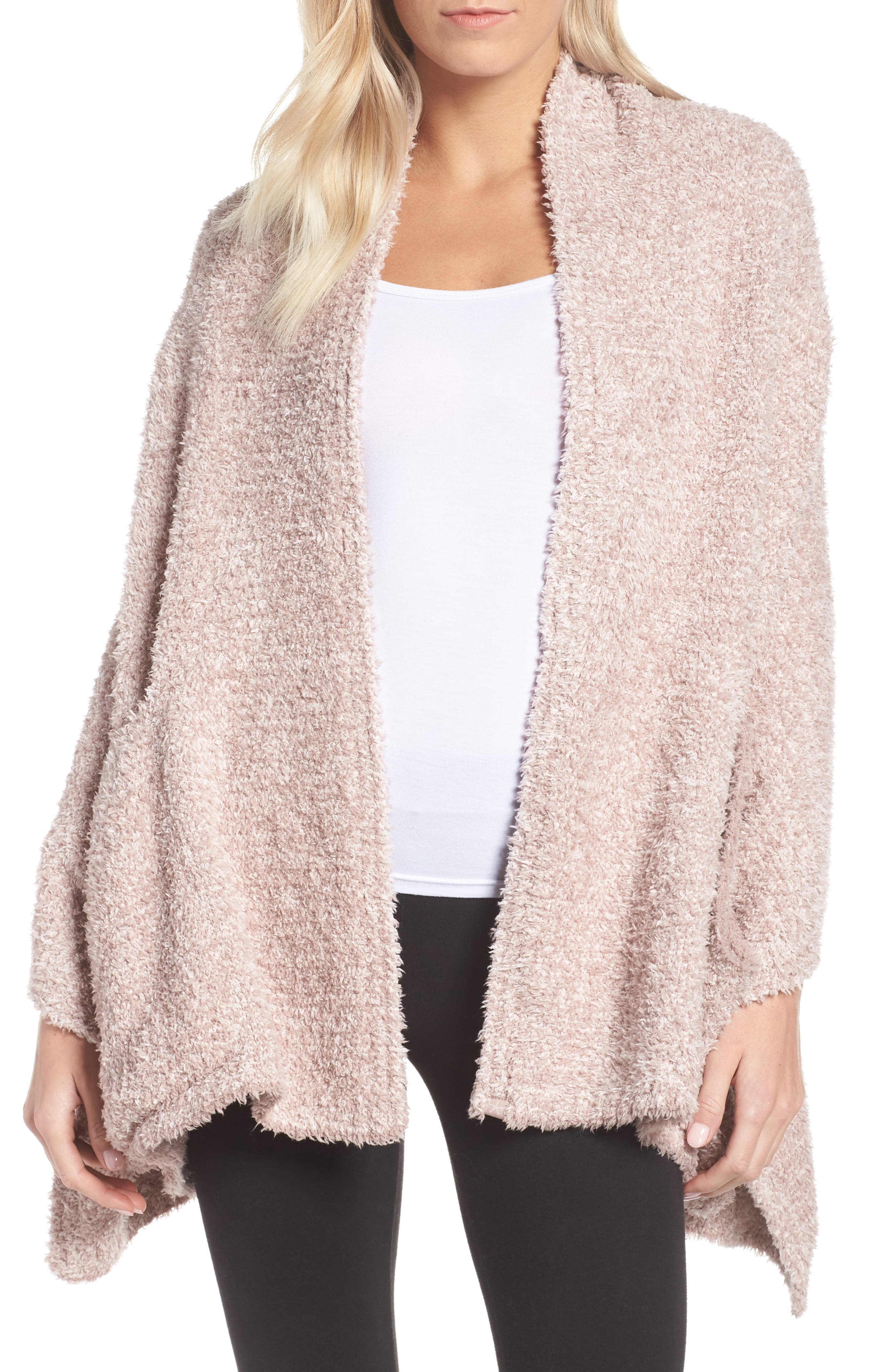 Barefoot Dreams Cozychic Travel Shawl, Size One Size - Pink (Online Only)