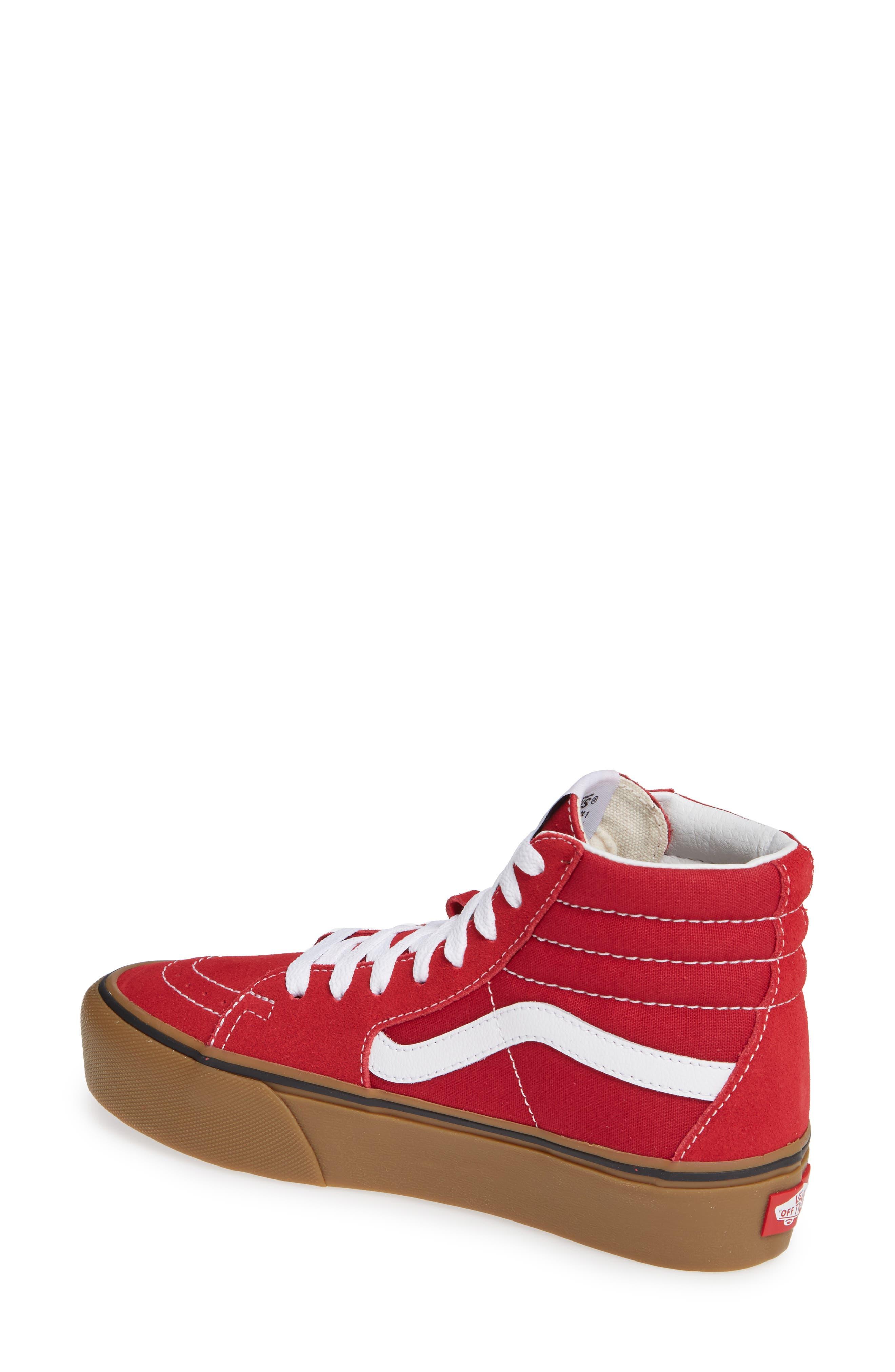 Sk8-Hi Platform Sneaker,                             Alternate thumbnail 2, color,                             SCOOTER/ TRUE WHITE