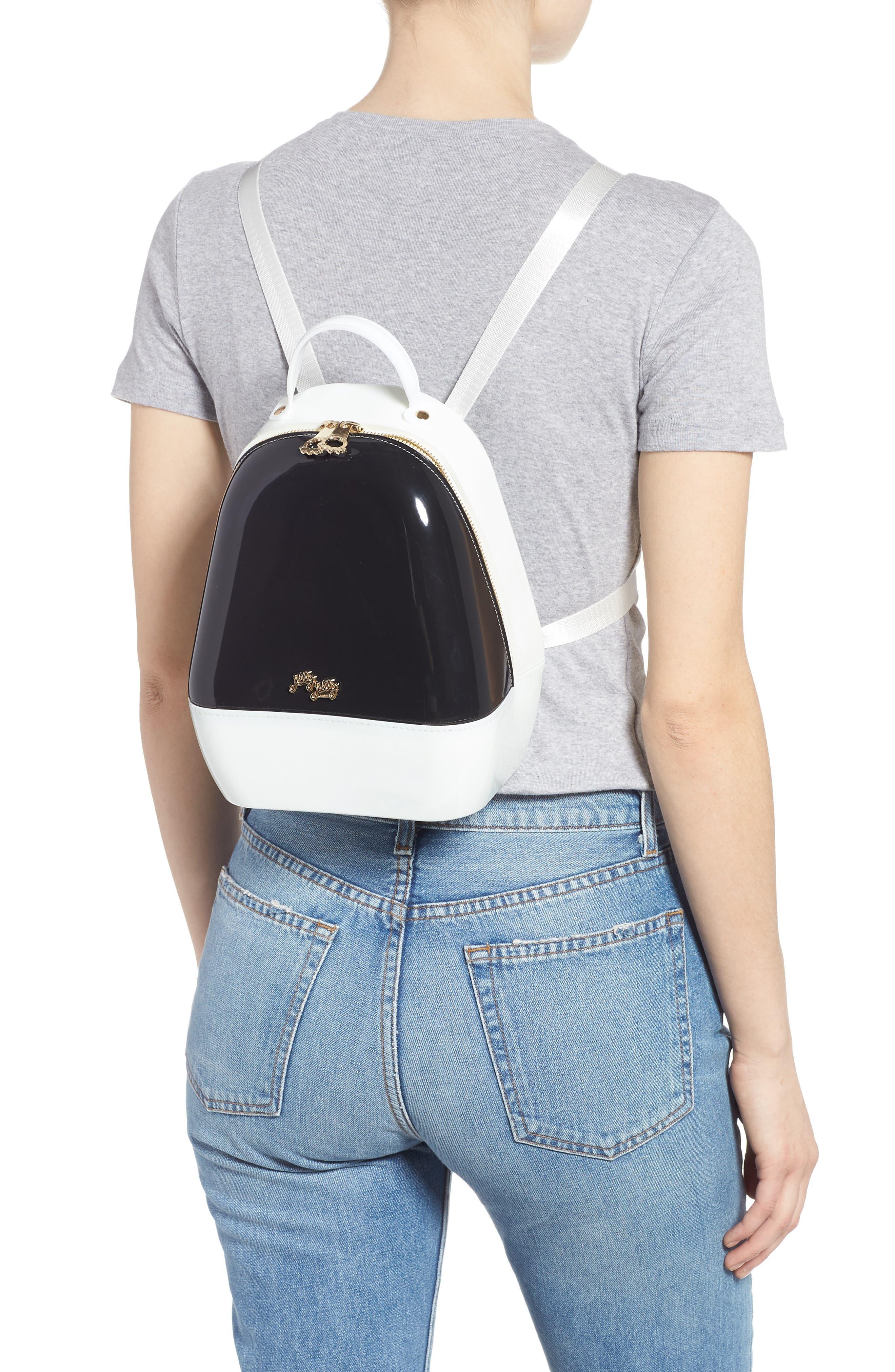 Annabelle Backpack,                             Alternate thumbnail 2, color,                             BLACK AND WHITE