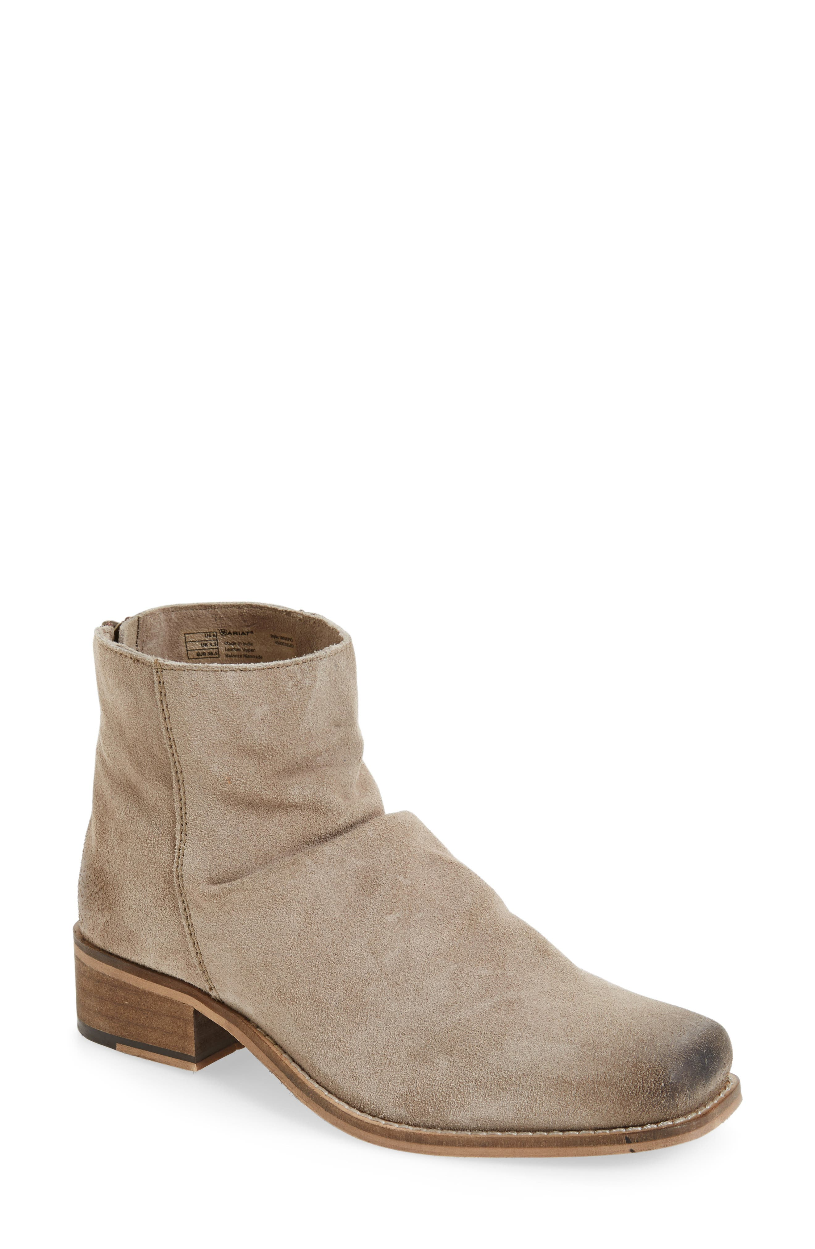 Unbridled Sloan Slouchy Bootie,                             Main thumbnail 1, color,                             200