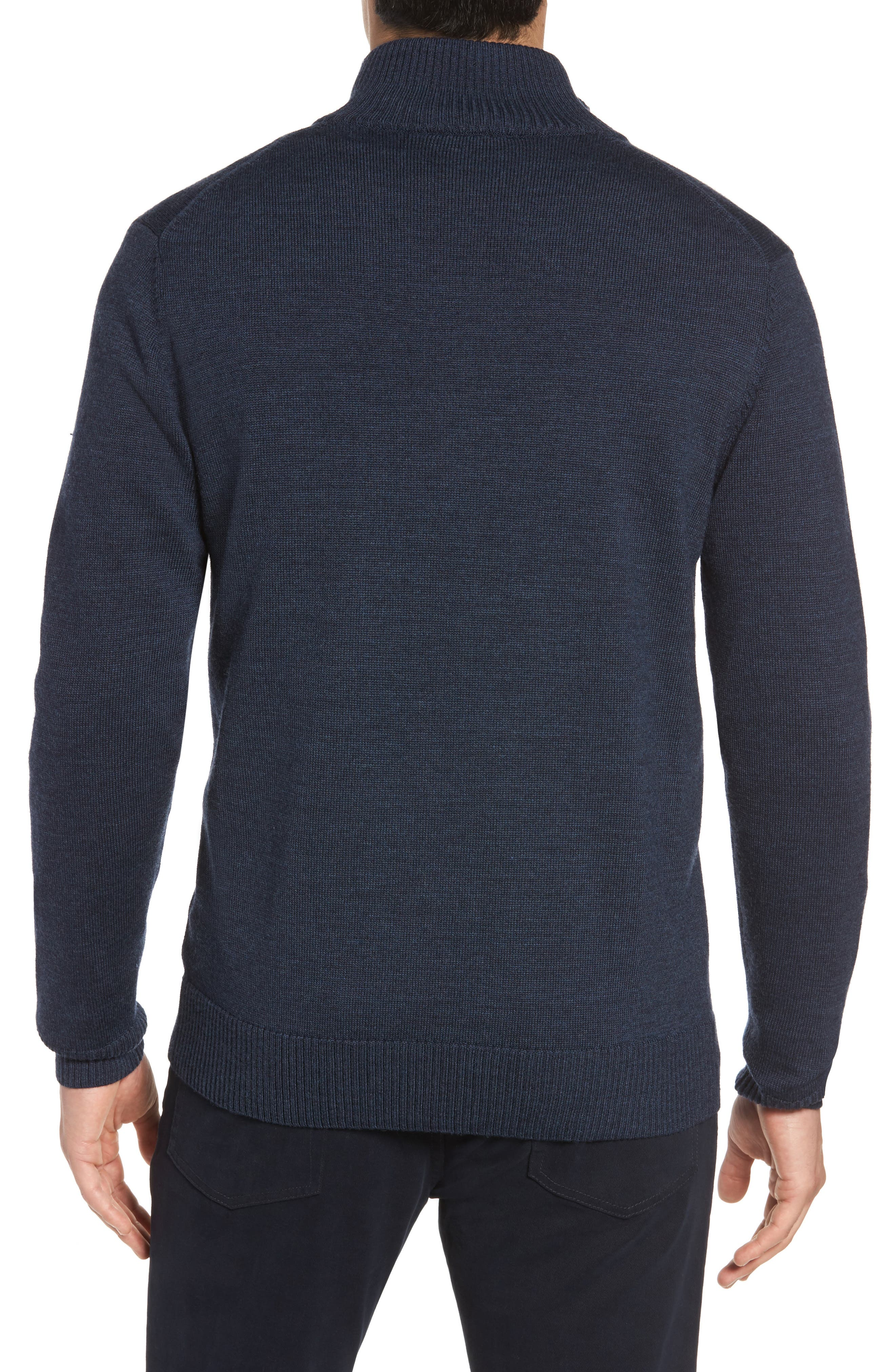Roaring Meg Zip Wool Sweater,                             Alternate thumbnail 2, color,                             401