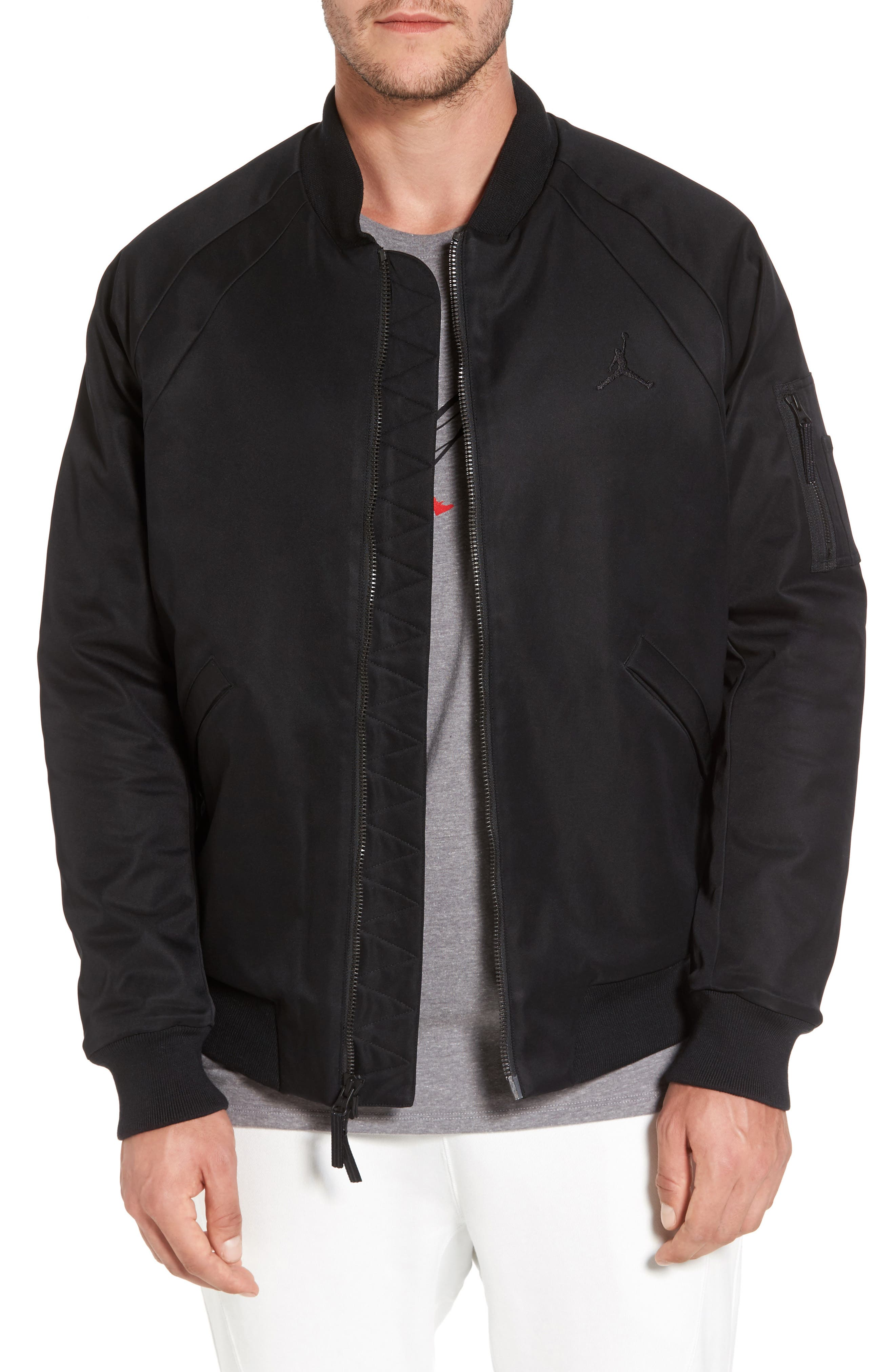 Sportswear Wings MA-1 Bomber Jacket,                         Main,                         color,