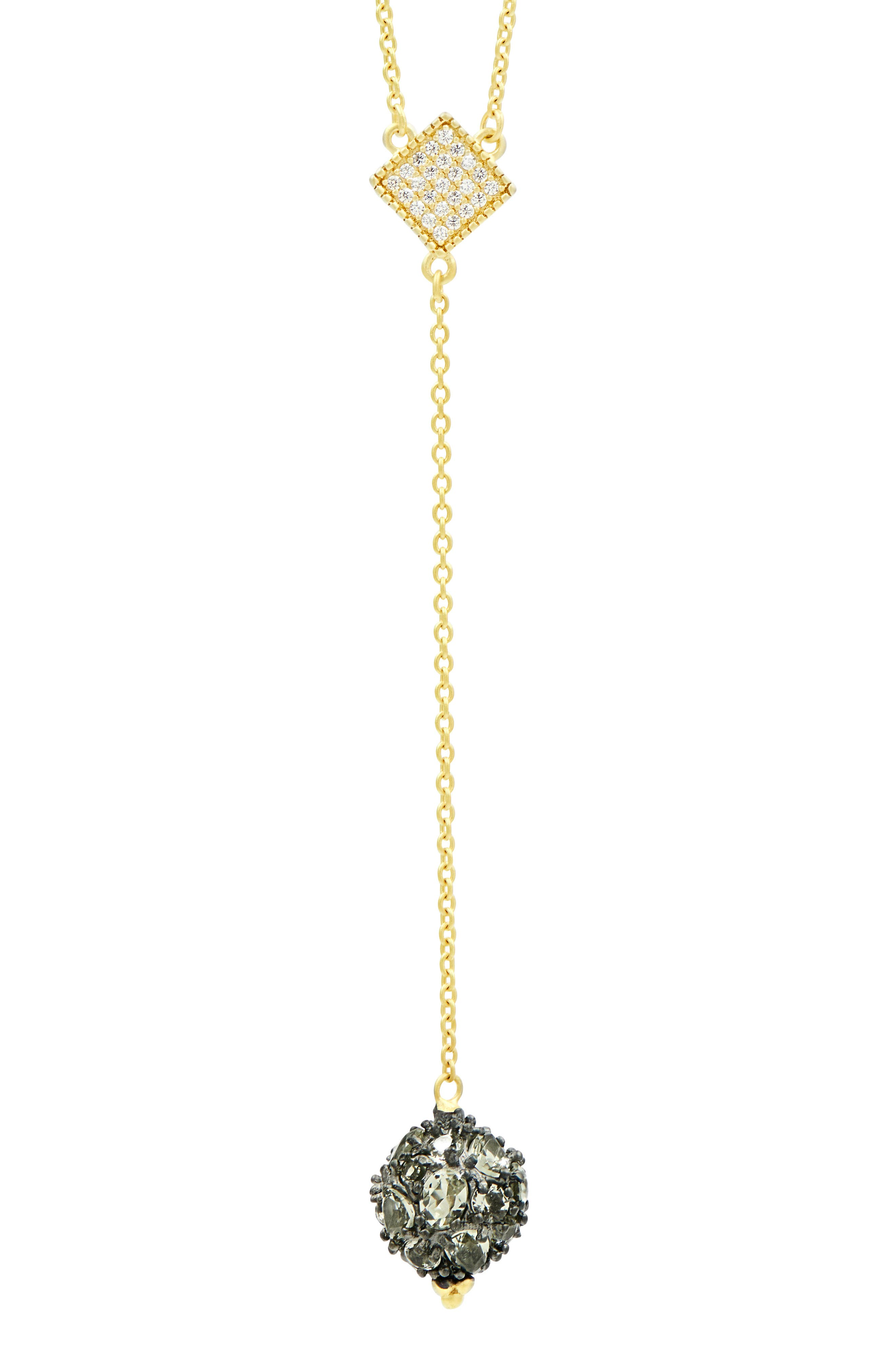 Rose Dor Y-Shape Necklace,                             Alternate thumbnail 2, color,                             710