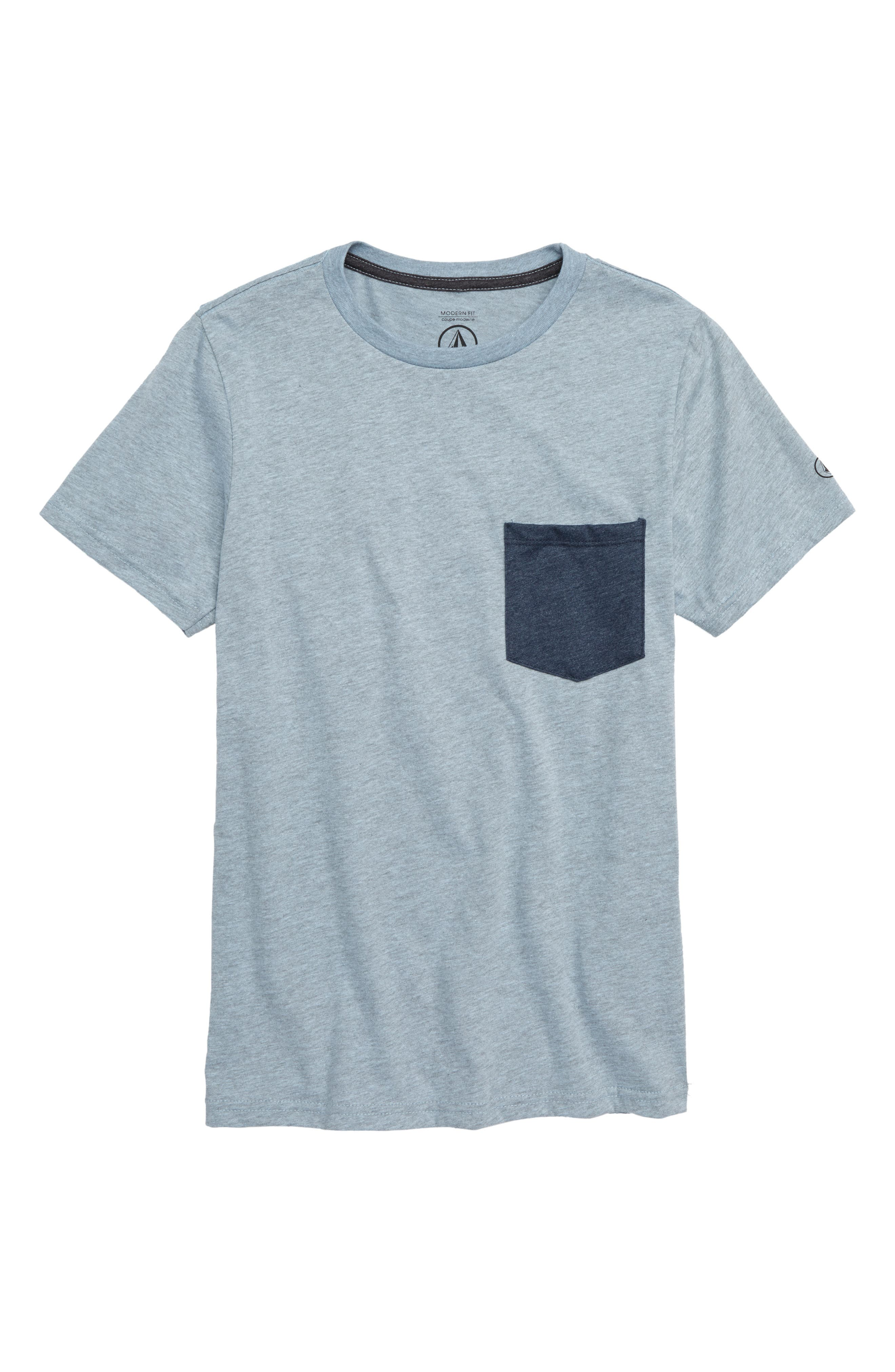 Heather Pocket T-Shirt,                         Main,                         color, 451