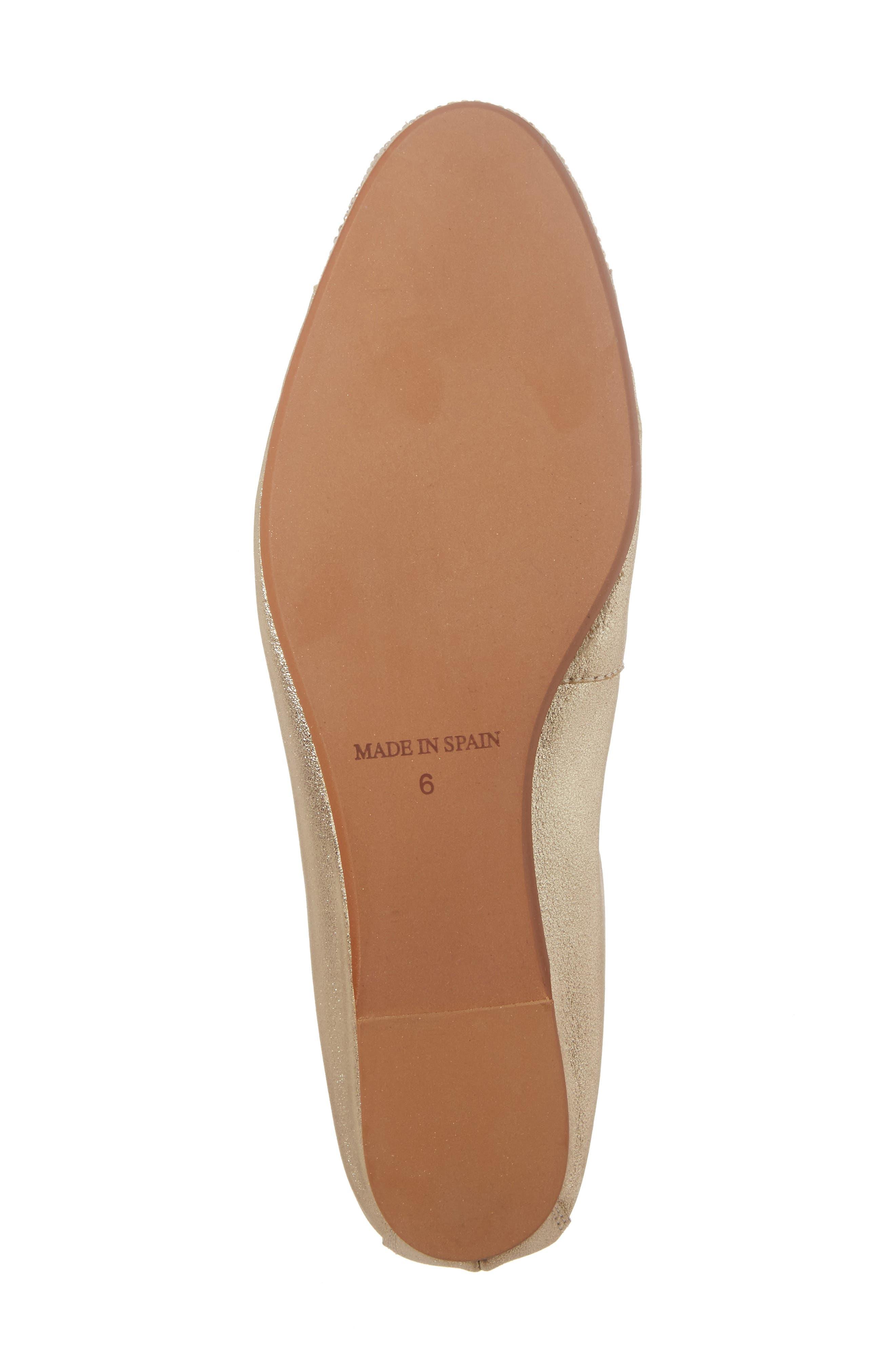 'Starr' Studded Ballet Flat,                             Alternate thumbnail 19, color,