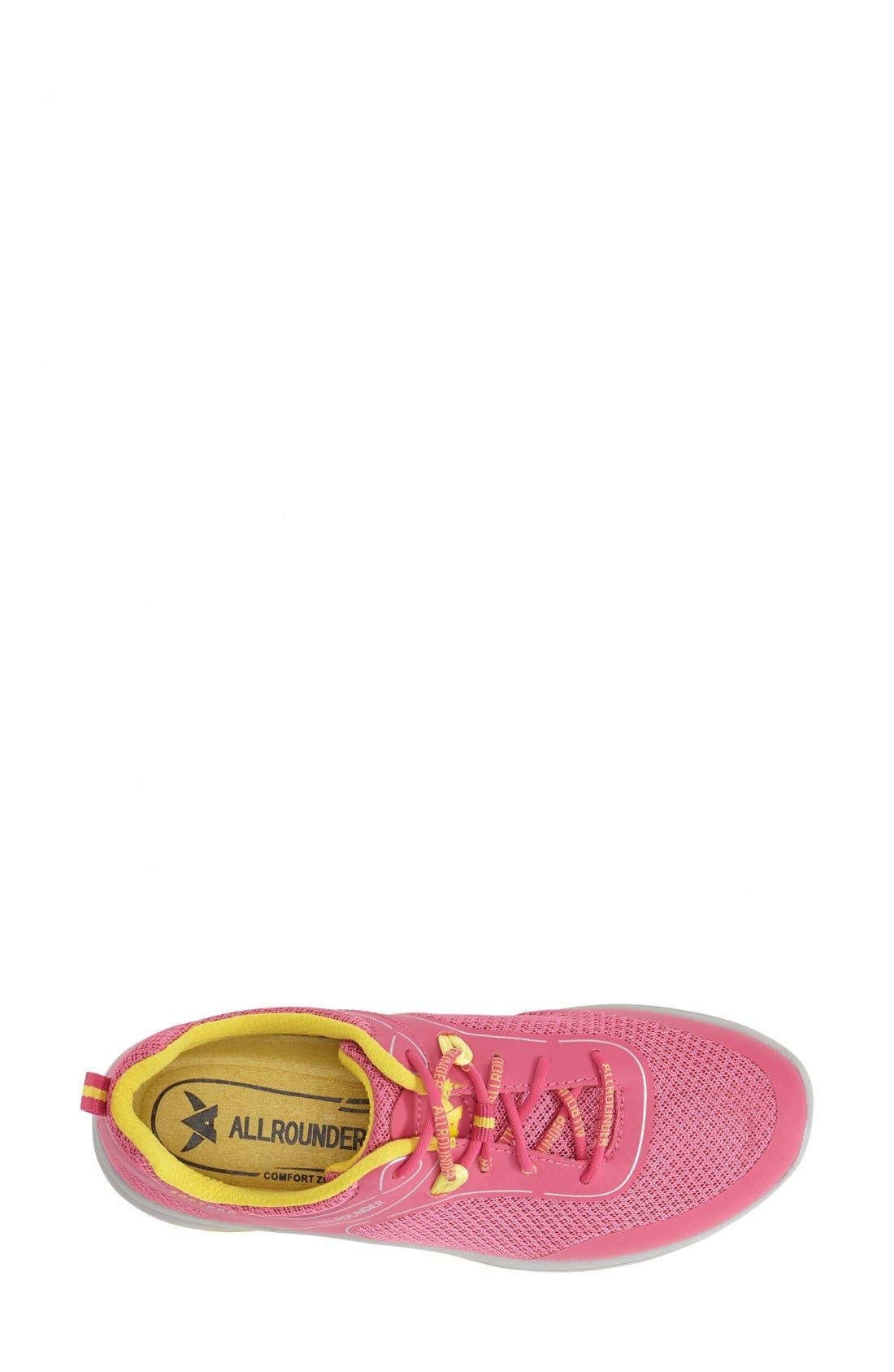 'Dakona' Sneaker,                             Alternate thumbnail 3, color,                             RASPBERRY